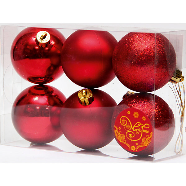 Набор шаров Красный блеск 6 штЁлочные игрушки<br>Набор шаров Красный блеск 6 шт – этот набор принесет в ваш дом ни с чем несравнимое ощущение праздника!<br>Набор новогодних подвесных украшений Красный блеск прекрасно подойдет для праздничного декора вашей ели. Набор состоит из 6 красных шаров, изготовленных из полистирола, - 2 матовых, 2 глянцевых, 2 покрытых глиттером. Для удобного размещения на елке для каждого шара предусмотрена петелька. Елочная игрушка - символ Нового года. Она несет в себе волшебство и красоту праздника. Создайте в своем доме атмосферу веселья и радости, украшая новогоднюю елку нарядными игрушками, которые будут из года в год накапливать теплоту воспоминаний. Откройте для себя удивительный мир сказок и грез. Почувствуйте волшебные минуты ожидания праздника, создайте новогоднее настроение вашим близким.<br><br>Дополнительная информация:<br><br>- В наборе: 6 шаров<br>- Материал: полистирол<br>- Цвет: красный<br>- Размер упаковки: 18 х 12 х 6 см.<br><br>Набор шаров Красный блеск 6 шт можно купить в нашем интернет-магазине.<br><br>Ширина мм: 300<br>Глубина мм: 250<br>Высота мм: 100<br>Вес г: 570<br>Возраст от месяцев: 36<br>Возраст до месяцев: 2147483647<br>Пол: Унисекс<br>Возраст: Детский<br>SKU: 4981538