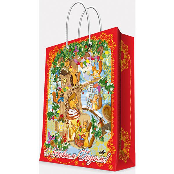 Подарочный пакет Белочки 17,8*22,9*9,8 смУпаковка новогоднего подарка<br>Предновогодние хлопоты многие любят даже больше самого праздника! Праздничное настроение создает украшенный дом, наряженная ёлка, запах мандаринов, предновогодняя суета и, конечно же, подарки! Чтобы сделать момент вручения приятнее, нужен красивый подарочный пакет.<br>Этот пакет украшен симпатичным универсальным рисунком, поэтому в него можно упаковать подарок и родственнику, и коллеге. Он сделан из безопасного для детей, прочного, но легкого, материала. Создайте с ним праздничное настроение себе и близким!<br><br>Дополнительная информация:<br><br>плотность бумаги: 140 г/м2;<br>размер: 18 х 23 х 10 см;<br>с ламинацией;<br>украшен рисунком.<br><br>Подарочный пакет Белочки 17,8*22,9*9,8 см можно купить в нашем магазине.<br><br>Ширина мм: 178<br>Глубина мм: 229<br>Высота мм: 98<br>Вес г: 39<br>Возраст от месяцев: 36<br>Возраст до месяцев: 2147483647<br>Пол: Унисекс<br>Возраст: Детский<br>SKU: 4981581