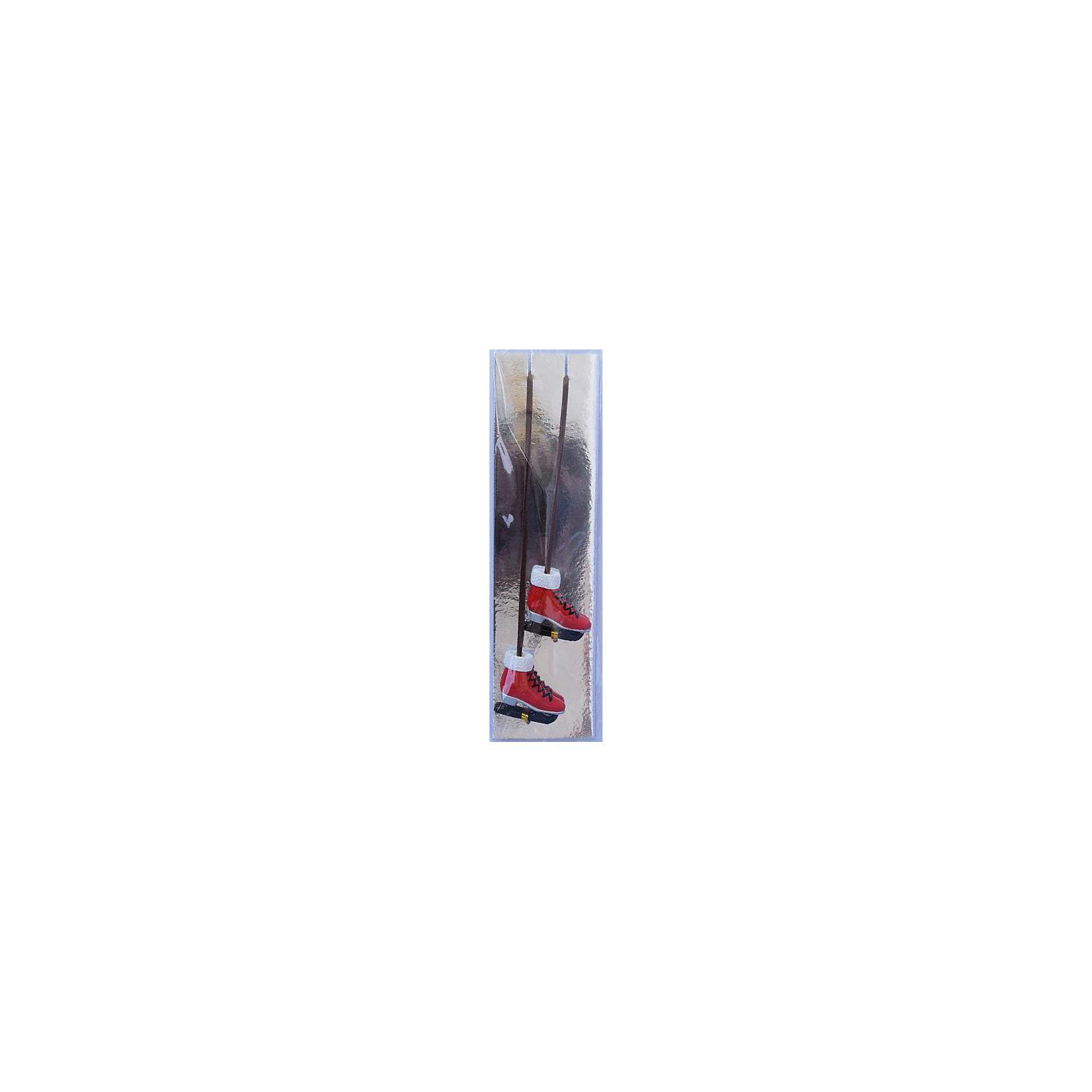Magic Time Набор украшений Красные коньки 2 шт magic time набор украшений королевские ключи 2 шт