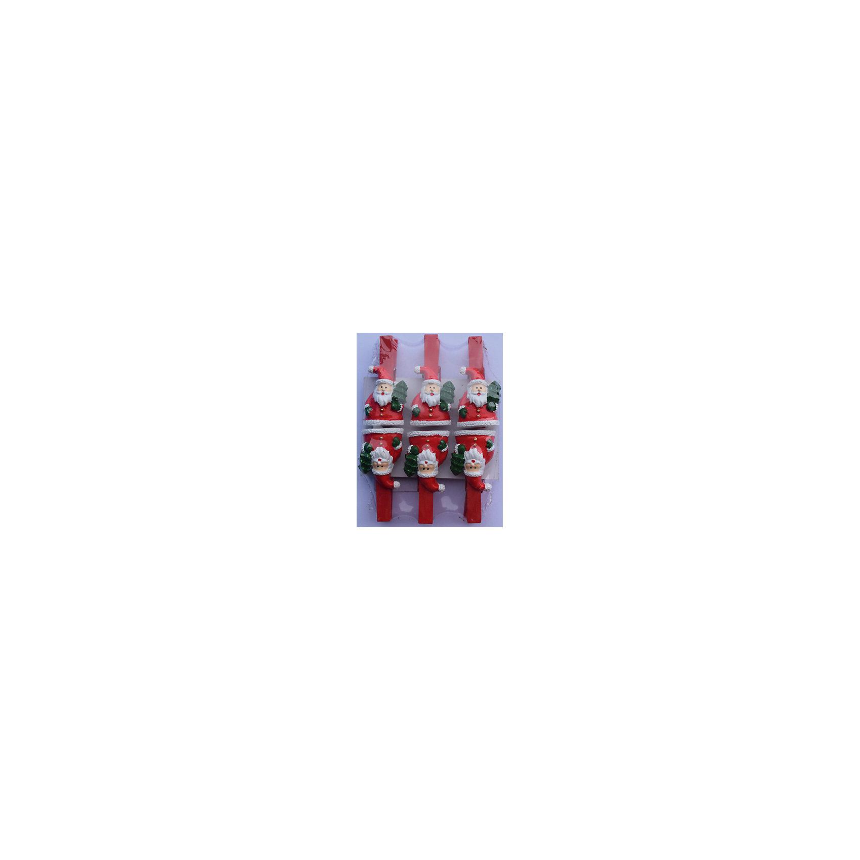 Набор прищепок Круглые санты 6 штПриближение Нового года не может не радовать! Праздничное настроение создает в первую очередь украшенный дом и, особенно, наряженная ёлка. Будь она из леса или искусственная - такие подвесные игрушки украсят любую!<br>Они сделаны из безопасного для детей, прочного, но легкого, материала, поэтому не разобьются, упав на пол. На украшениях есть прищепка, чтобы их можно было крепить на ёлку. Благодаря расцветке украшение отлично смотрится на ёлке. Создайте с ним праздничное настроение себе и близким!<br><br>Дополнительная информация:<br><br>размер: 10 х 9 х 2 см;<br>материал: полирезина;<br>комплектация: 6 шт.<br><br>Набор прищепок Круглые санты 6 шт можно купить в нашем магазине.<br><br>Ширина мм: 150<br>Глубина мм: 150<br>Высота мм: 60<br>Вес г: 44<br>Возраст от месяцев: 36<br>Возраст до месяцев: 2147483647<br>Пол: Унисекс<br>Возраст: Детский<br>SKU: 4981647