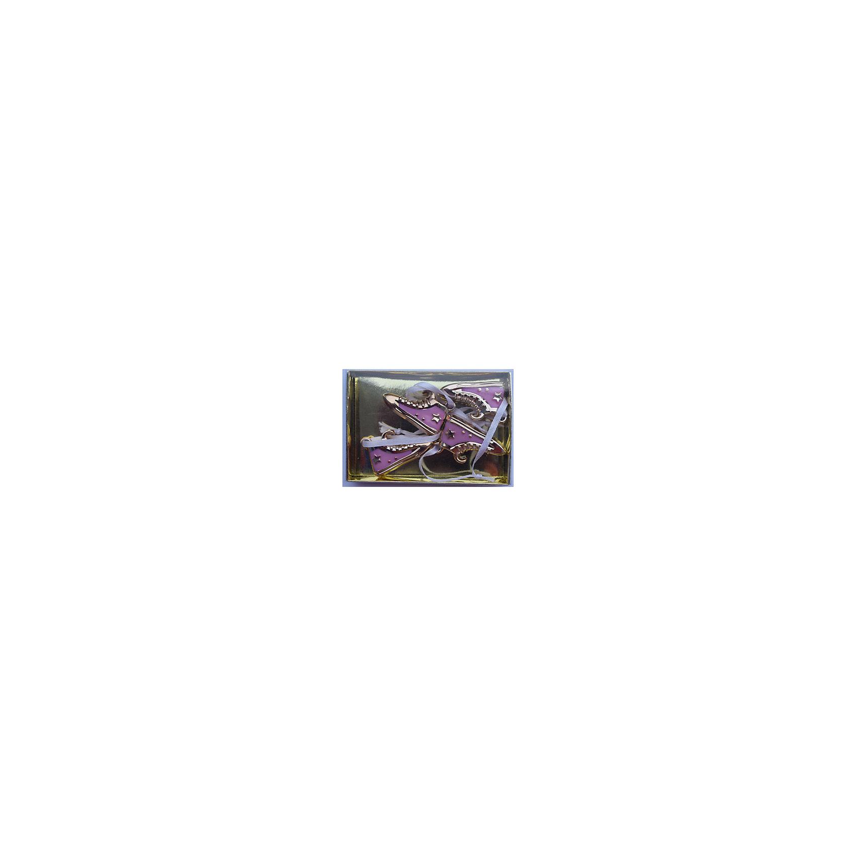 Magic Time Набор украшений Розовые кеды 4 шт набор новогодних подвесных украшений magic time розовые кеды 4 х 1 х 2 см 4 шт