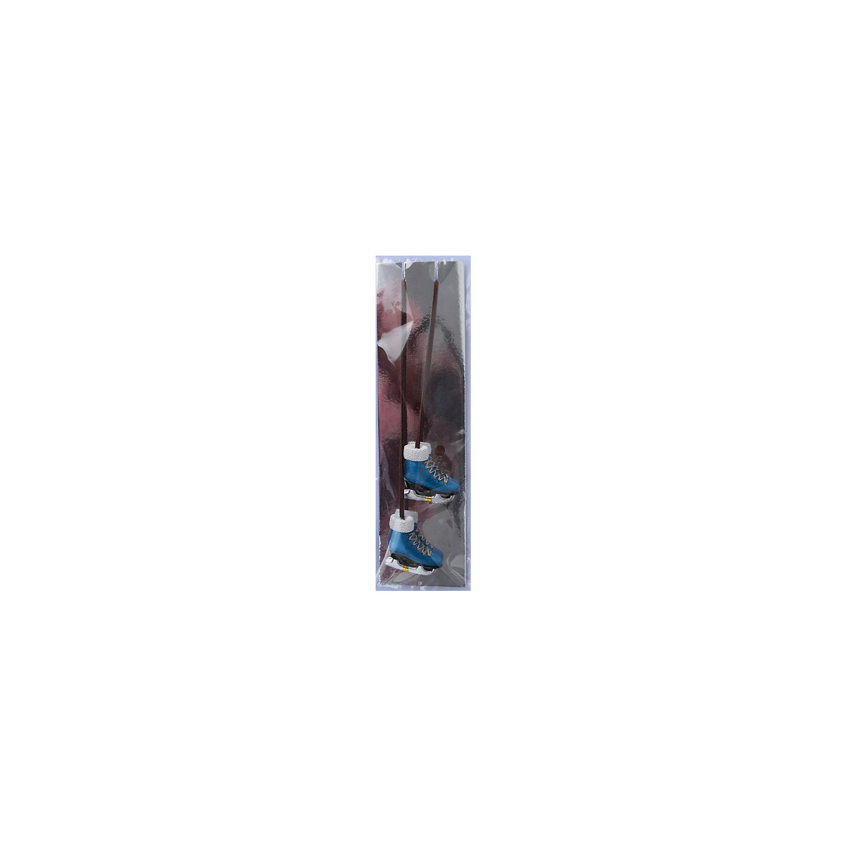 Magic Time Набор украшений Синие коньки 2 шт magic time набор украшений королевские ключи 2 шт