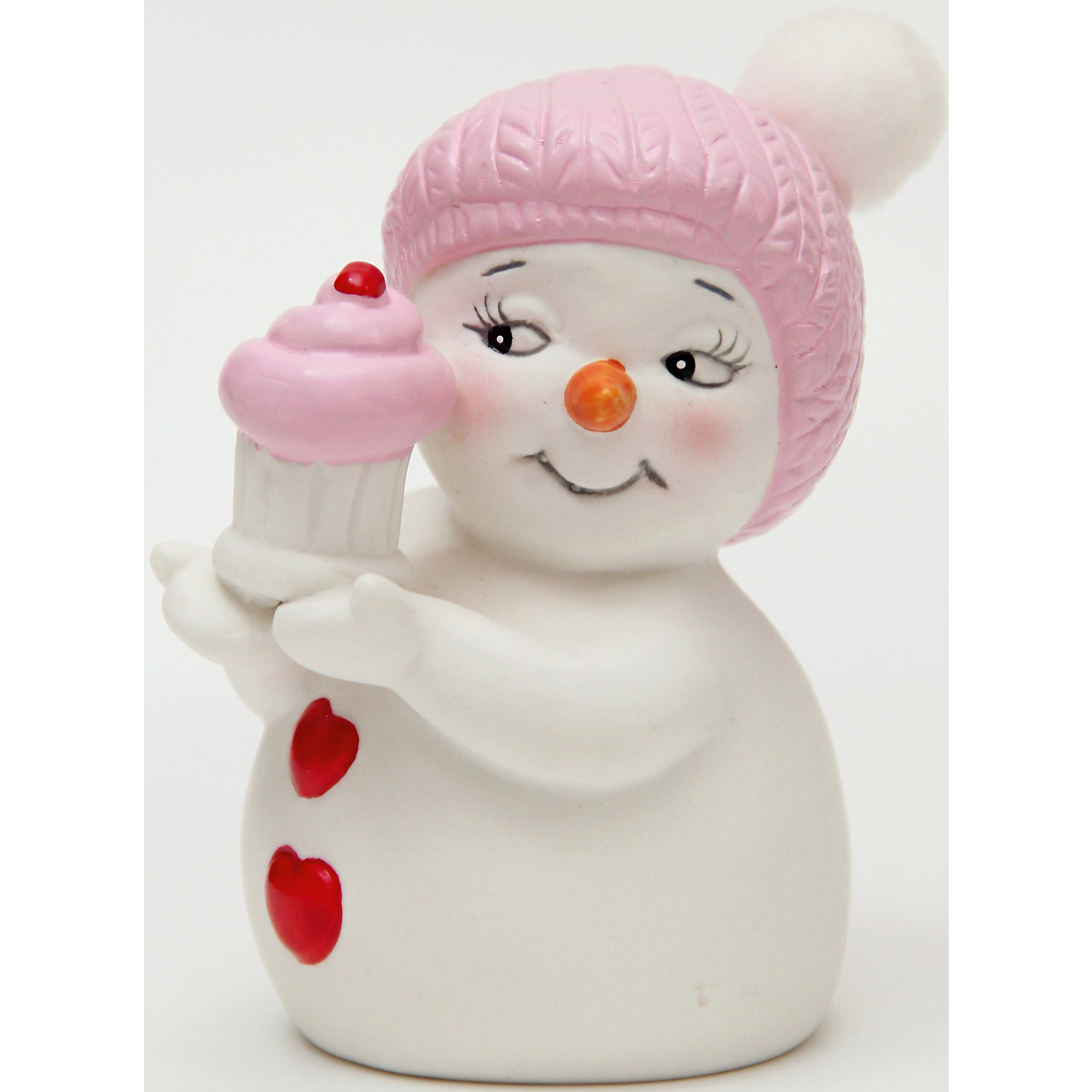 Керамический снеговик Девочка с кексикомЭта керамическая фигурка может стать отличным подарком на Новый год или украшением для дома! Особое время - сам праздник и предновогодние хлопоты - ждут не только дети, но и взрослые! Праздничное настроение создает в первую очередь украшенный дом и наряженная ёлка. <br>Эта фигурка создаст особый настрой, она выглядит очень празднично и симпатично. Изделие произведено из безопасного для детей материала. Создайте с ним праздничное настроение себе и близким!<br><br>Дополнительная информация:<br><br>цвет: разноцветный;<br>материал: керамика;<br>размер: 8 см.<br><br>Керамический снеговик Девочка с кексиком можно купить в нашем магазине.<br><br>Ширина мм: 150<br>Глубина мм: 150<br>Высота мм: 60<br>Вес г: 125<br>Возраст от месяцев: 36<br>Возраст до месяцев: 2147483647<br>Пол: Унисекс<br>Возраст: Детский<br>SKU: 4981671