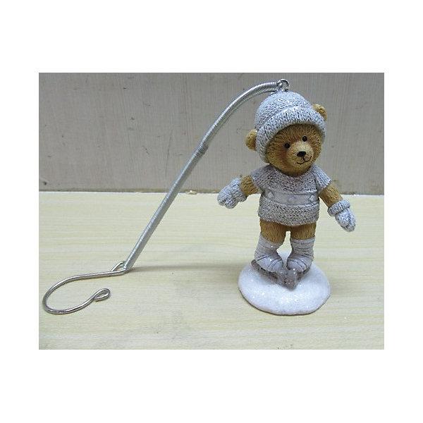 Украшение Медвежонок на конькахЁлочные игрушки<br>Новый год - самый любимый праздник у многих детей и взрослых. Праздничное настроение создает в первую очередь украшенный дом и, особенно, наряженная ёлка. Будь она из леса или искусственная - такая подвесная игрушка украсит любую!<br>Она сделана из безопасного для детей, прочного, но легкого, материала, поэтому не разобьется, упав на пол. Благодаря расцветке украшение отлично смотрится на ёлке. Создайте с ним праздничное настроение себе и близким!<br><br>Дополнительная информация:<br><br>цвет: разноцветный;<br>материал: полирезина;<br>размер: 6 х 4 х 8 см.<br><br>Украшение Медвежонок на коньках можно купить в нашем магазине.<br><br>Ширина мм: 150<br>Глубина мм: 150<br>Высота мм: 60<br>Вес г: 74<br>Возраст от месяцев: 36<br>Возраст до месяцев: 2147483647<br>Пол: Унисекс<br>Возраст: Детский<br>SKU: 4981697