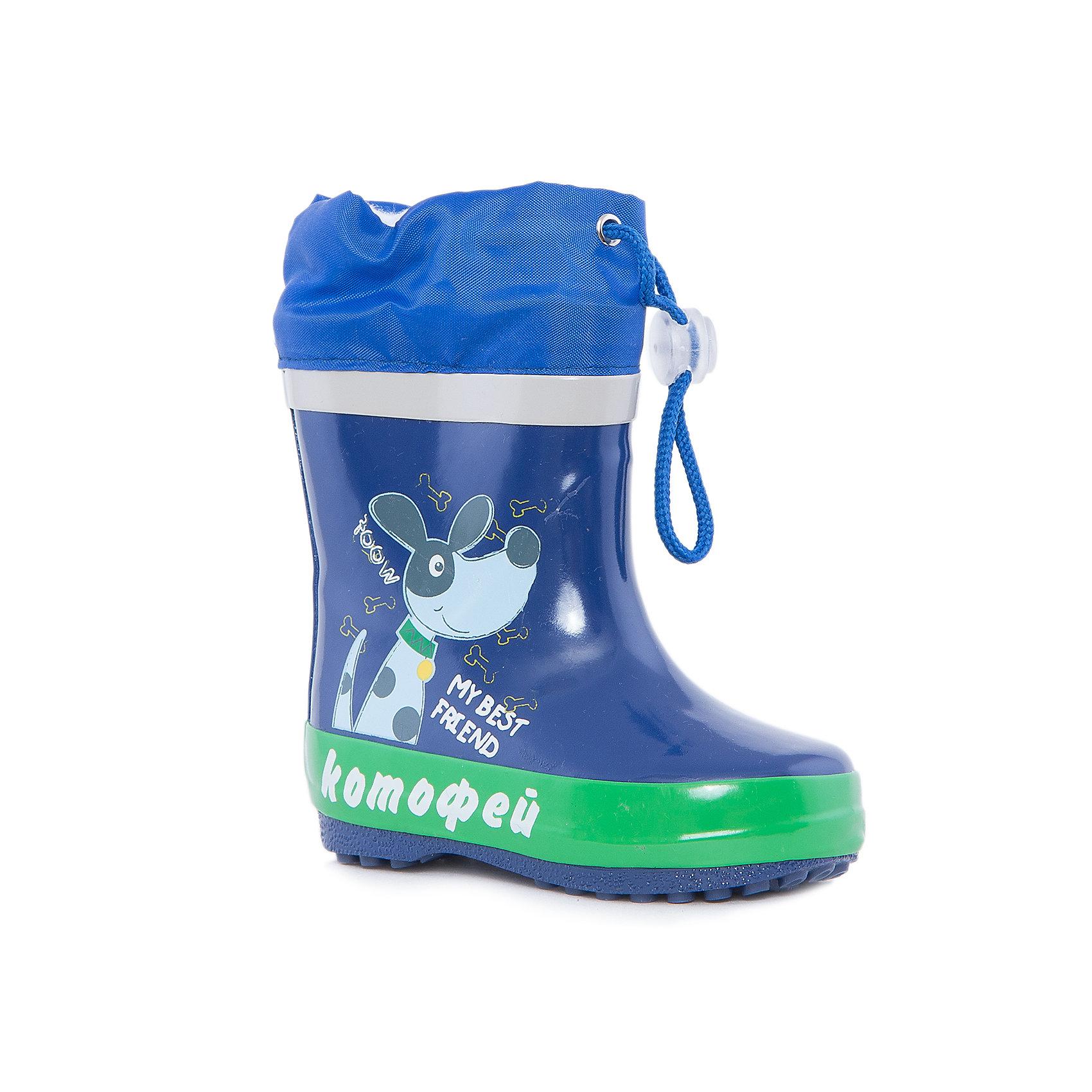 Резиновые сапоги для мальчика КотофейРезиновые сапоги<br>Котофей – качественная и стильная детская обувь по доступным ценам. С каждым днем популярность бренда растет.  Резиновые сапожки – незаменимая вещь для осенней погоды. Теперь маленький непоседа может изучать лужи без риска промочить ножки и простудиться. Милый, современный дизайн оценят все юные модники. Яркие цвета сочетаются с любой одеждой, что позволяет создать множество стильных образов.<br><br>Дополнительная информация:<br><br>цвет: сине-зеленый;<br>вид крепления: горячая вулканизация;<br>застежка: шнур с фиксатором;<br>температурный режим: от 0° С до +15° С.<br><br>Состав:<br>верх – резина;<br>подкладка - текстиль;<br>подошва - плотная резина.<br><br>Ясельно-малодетские сапоги для мальчика из резины от фирмы  Котофей можно приобрести в нашем магазине.<br><br>Ширина мм: 257<br>Глубина мм: 180<br>Высота мм: 130<br>Вес г: 420<br>Цвет: синий/зеленый<br>Возраст от месяцев: 12<br>Возраст до месяцев: 15<br>Пол: Мужской<br>Возраст: Детский<br>Размер: 21,20,23,22<br>SKU: 4981987