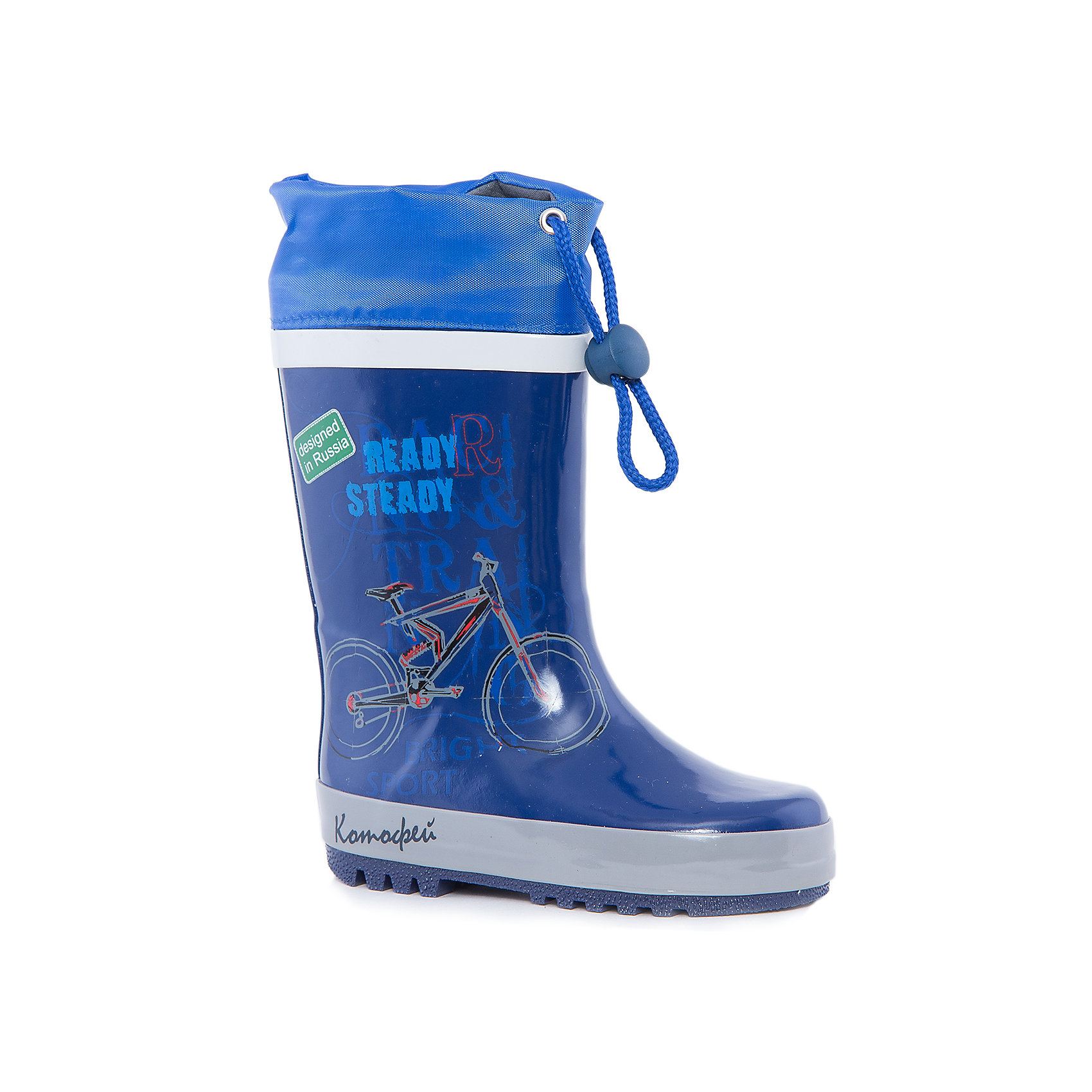 Резиновые сапоги  для мальчика КотофейРезиновые сапоги<br>Котофей – качественная и стильная детская обувь по доступным ценам. С каждым днем популярность бренда растет.  Резиновые сапожки – незаменимая вещь для осенней погоды. Теперь маленький непоседа может изучать лужи без риска промочить ножки и простудиться. Милый, современный дизайн оценят все юные модники. Яркие цвета сочетаются с любой одеждой, что позволяет создать множество стильных образов.<br><br>Дополнительная информация:<br><br>цвет: сине-серый;<br>вид крепления: литьевой;<br>застежка: шнур с фиксатором;<br>температурный режим: от 0° С до +15° С.<br><br>Состав:<br>материал верха – резина;<br>материал подклада - текстиль;<br>подошва - плотная резина.<br><br>Малодетские резиновые сапоги для мальчика дошкольного возраста от фирмы  Котофей можно приобрести в нашем магазине.<br><br>Ширина мм: 257<br>Глубина мм: 180<br>Высота мм: 130<br>Вес г: 420<br>Цвет: серый/синий<br>Возраст от месяцев: 24<br>Возраст до месяцев: 24<br>Пол: Мужской<br>Возраст: Детский<br>Размер: 28,29,24,25,26,27<br>SKU: 4982050