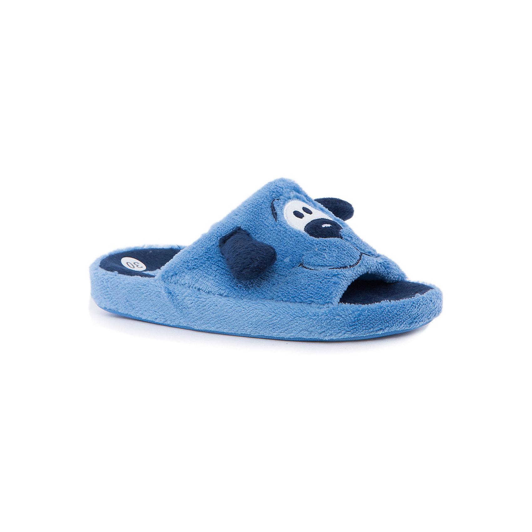Тапки для мальчика КотофейКотофей – качественная и стильная детская обувь по доступным ценам. С каждым днем популярность бренда растет.  Обувь – отражение человека. Домашней обуви необходимо уделять такое же внимание, как и уличной. Тапочки выполнены в форме веселой собачки. Ушки прочно пришиты. Носок тапочек открыт. Такая домашняя обувь одновременно и согреет и будет стильным аксессуаром к любимой пижамке подходящего цвета.<br><br>Дополнительная информация:<br><br>цвет: цветной;<br>крепление: клеевое.<br><br>Состав:<br>верх – утепленный текстиль;<br>материал подклада – текстиль;<br>подошва – ТЭП.<br><br>Цветные тапочки для мальчика дошкольного возраста из текстиля от фирмы Котофей можно приобрести в нашем магазине.<br><br>Ширина мм: 219<br>Глубина мм: 158<br>Высота мм: 118<br>Вес г: 274<br>Цвет: разноцветный<br>Возраст от месяцев: 132<br>Возраст до месяцев: 144<br>Пол: Мужской<br>Возраст: Детский<br>Размер: 35,34,31,30,33,32<br>SKU: 4982071