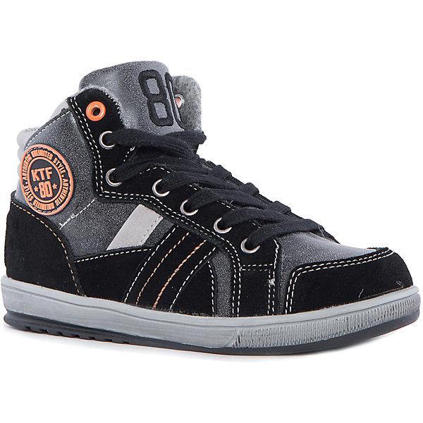 Ботинки для мальчика КотофейБотинки<br>Котофей – качественная и стильная детская обувь по доступным ценам. С каждым днем популярность бренда растет.  Модные зимние ботинки для мальчика – мастхэв приближающихся холодов. Стильный дизайн позволит создать множество образов, а материалы ботинок защитят ножки малыша от непогоды. Особенностью модели является одновременное наличие и шнуровки и молнии. <br><br>Дополнительная информация:<br><br>цвет: черно-оранжевый;<br>вид крепления: на клею;<br>застежка: шнуровка, молния;<br>температурный режим: от -10 °С до +10° С.<br><br>Состав:<br>материал верха – комбинированный;<br>материал подклада – байка;<br>подошва – ТЭП.<br><br>Зимние ботиночки для мальчика дошкольного возраста из искусственной кожи от фирмы Котофей можно приобрести в нашем магазине.<br><br>Ширина мм: 262<br>Глубина мм: 176<br>Высота мм: 97<br>Вес г: 427<br>Цвет: оранжевый/черный<br>Возраст от месяцев: 84<br>Возраст до месяцев: 96<br>Пол: Мужской<br>Возраст: Детский<br>Размер: 31,35,32,30,33,34<br>SKU: 4982085