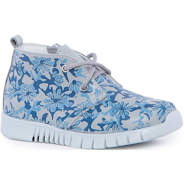 Ботинки для девочки КотофейБотинки<br>Котофей – качественная и стильная детская обувь по доступным ценам. С каждым днем популярность бренда растет.  Летние ботиночки полюбятся всем девочкам. Натуральные материалы и стильный дизайн образуют данную модель из коллекции нового сезона. Интересный принт в цветок делает модель одновременно оригинальной и нежной. Универсальный дизайн позволит создать множество образов.<br><br>Дополнительная информация:<br><br>цвет: серо - синий;<br>крепление: клеевое;<br>застежка: шнурки;<br>температурный режим: от +10°С до +20° С.<br><br>Состав:<br>верх – кожа;<br>подкладка – кожподклад;<br>материал подошвы – ТЭП.<br><br>Летние ботиночки для девочек  дошкольного возраста из натуральной кожи от фирмы Котофей можно приобрести у нас в магазине.<br><br>Ширина мм: 262<br>Глубина мм: 176<br>Высота мм: 97<br>Вес г: 427<br>Цвет: сине-серый<br>Возраст от месяцев: 24<br>Возраст до месяцев: 36<br>Пол: Женский<br>Возраст: Детский<br>Размер: 26,28,27,25,29<br>SKU: 4982136