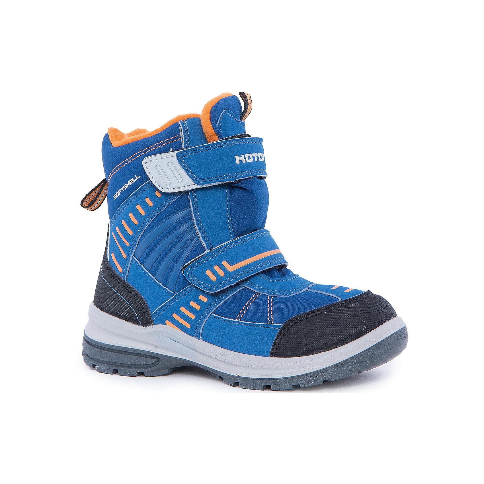 Ботинки для мальчика КотофейКотофей – качественная и стильная детская обувь по доступным ценам. С каждым днем популярность бренда растет.  Сапожки – универсальная обувь для холодов для всех маленьких непосед. Новая модель сапог для мальчика сочетает все модные тенденции  наступающего зимнего сезона. Стильный дизайн, яркие цвета, уникальный пошив и цветные детали создают неповторимый элемент гардероба.<br><br>Дополнительная информация:<br><br>цвет: сине-оранжевый;<br>вид крепления: литьевой;<br>застежка: липучка;<br>температурный режим: от -15 °С до +5° С.<br><br>Состав:<br>материал верха – комбинированный;<br>материал подклада – мех шерстяной;<br>подошва – ПУ/резина.<br><br>Зимние сапожки для мальчика дошкольного возраста от фирмы Котофей можно купить в нашем магазине.<br><br>Ширина мм: 262<br>Глубина мм: 176<br>Высота мм: 97<br>Вес г: 427<br>Цвет: синий/оранжевый<br>Возраст от месяцев: 72<br>Возраст до месяцев: 84<br>Пол: Мужской<br>Возраст: Детский<br>Размер: 30,28,31,29,27<br>SKU: 4982172