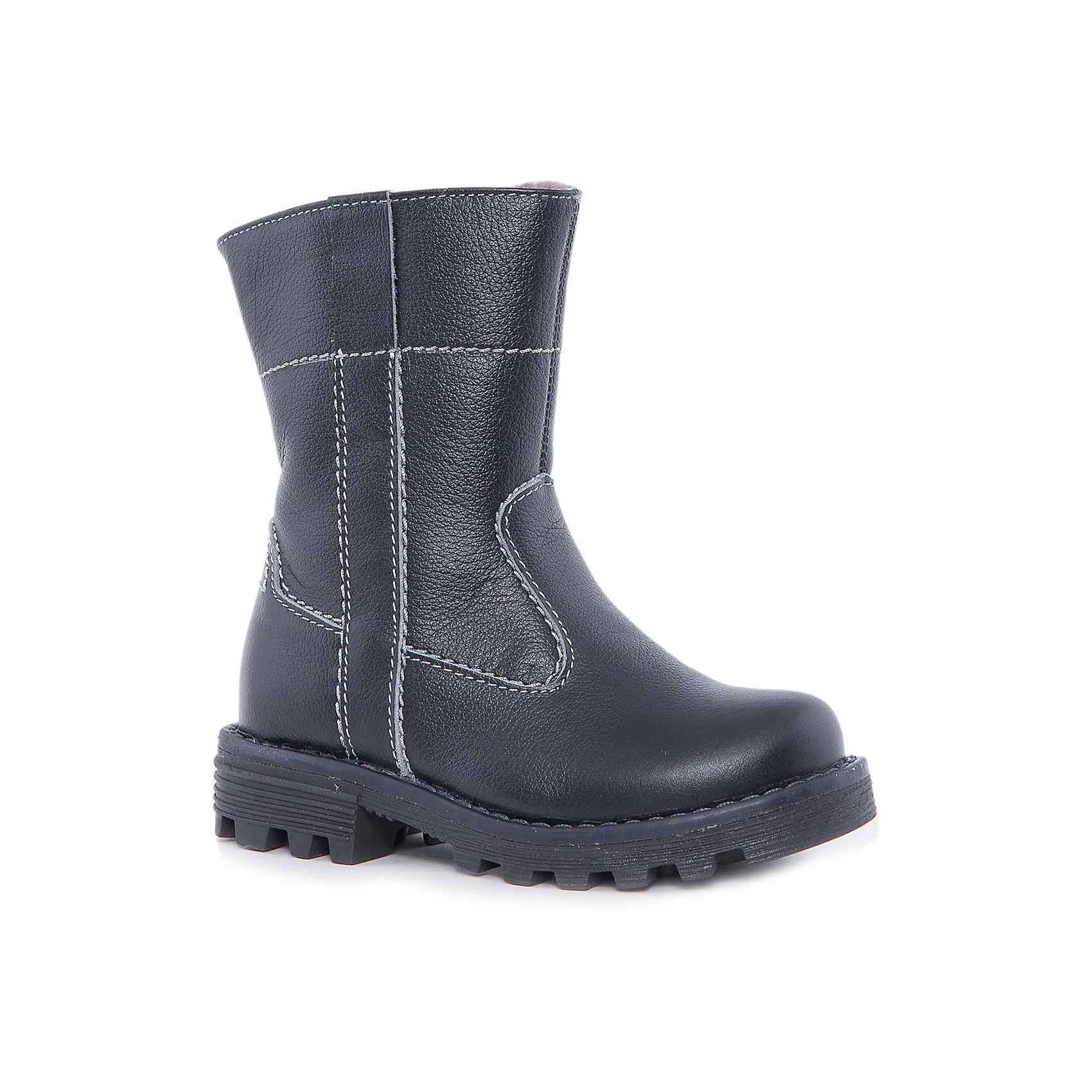 Сапоги для мальчика КотофейКотофей – качественная и стильная детская обувь по доступным ценам. С каждым днем популярность бренда растет.  Сапожки – универсальная обувь для холодов, как для мальчиков, так и для девочек. Новая модель – сочетание проверенной классики и модных тенденций. Минимализм – стильное решение для сапог юного модника. Натуральные материалы отвечают всем требованиям по безопасности.<br><br>Дополнительная информация:<br><br>цвет: синий;<br>вид крепления: на клею;<br>застежка: молния;температурный режим: от -15 °С до +5° С.<br><br>Состав:<br>материал верха – кожа;<br>материал подклада – натуральная овчина;<br>подошва – ТЭП.<br><br>Зимние сапожки из натуральной кожи для мальчика дошкольного возраста от фирмы Котофей можно купить в нашем магазине.<br><br>Ширина мм: 257<br>Глубина мм: 180<br>Высота мм: 130<br>Вес г: 420<br>Цвет: синий<br>Возраст от месяцев: 48<br>Возраст до месяцев: 60<br>Пол: Мужской<br>Возраст: Детский<br>Размер: 28,29,30,31,27<br>SKU: 4982178