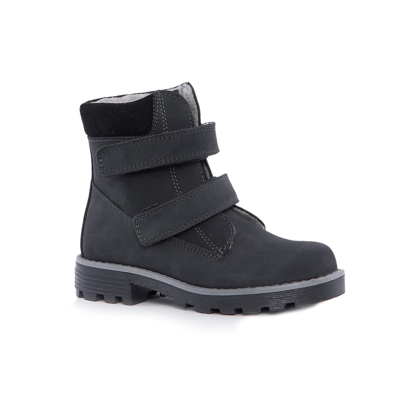 Ботинки для мальчика КотофейБотинки<br>Котофей – качественная и стильная детская обувь по доступным ценам. С каждым днем популярность бренда растет.  С наступлением осенних холодов очень важно выбрать удобную и теплую обувь, которая защитит ножки малыша от промокания, а здоровье от простуды. Стильные черные ботинки на удобной застежке – липе шнуровке – прекрасный выбор обновки гардероба к новому сезону. Модель отвечает всем модным требованиям.<br><br>Дополнительная информация:<br><br>цвет: черный;<br>вид крепления: на клею;<br>застежка: липучка;<br>температурный режим: от 0°С до +15° С.<br><br>Состав:<br>материал верха – кожа;<br>материал подклада – байка;<br>подошва – ТЭП.<br><br>Осенние ботиночки из натуральной кожи для мальчика дошкольного и школьного возраста от фирмы Котофей можно приобрести в нашем магазине.<br><br>Ширина мм: 262<br>Глубина мм: 176<br>Высота мм: 97<br>Вес г: 427<br>Цвет: черный<br>Возраст от месяцев: 84<br>Возраст до месяцев: 96<br>Пол: Мужской<br>Возраст: Детский<br>Размер: 31,35,32,33,30,34<br>SKU: 4982229