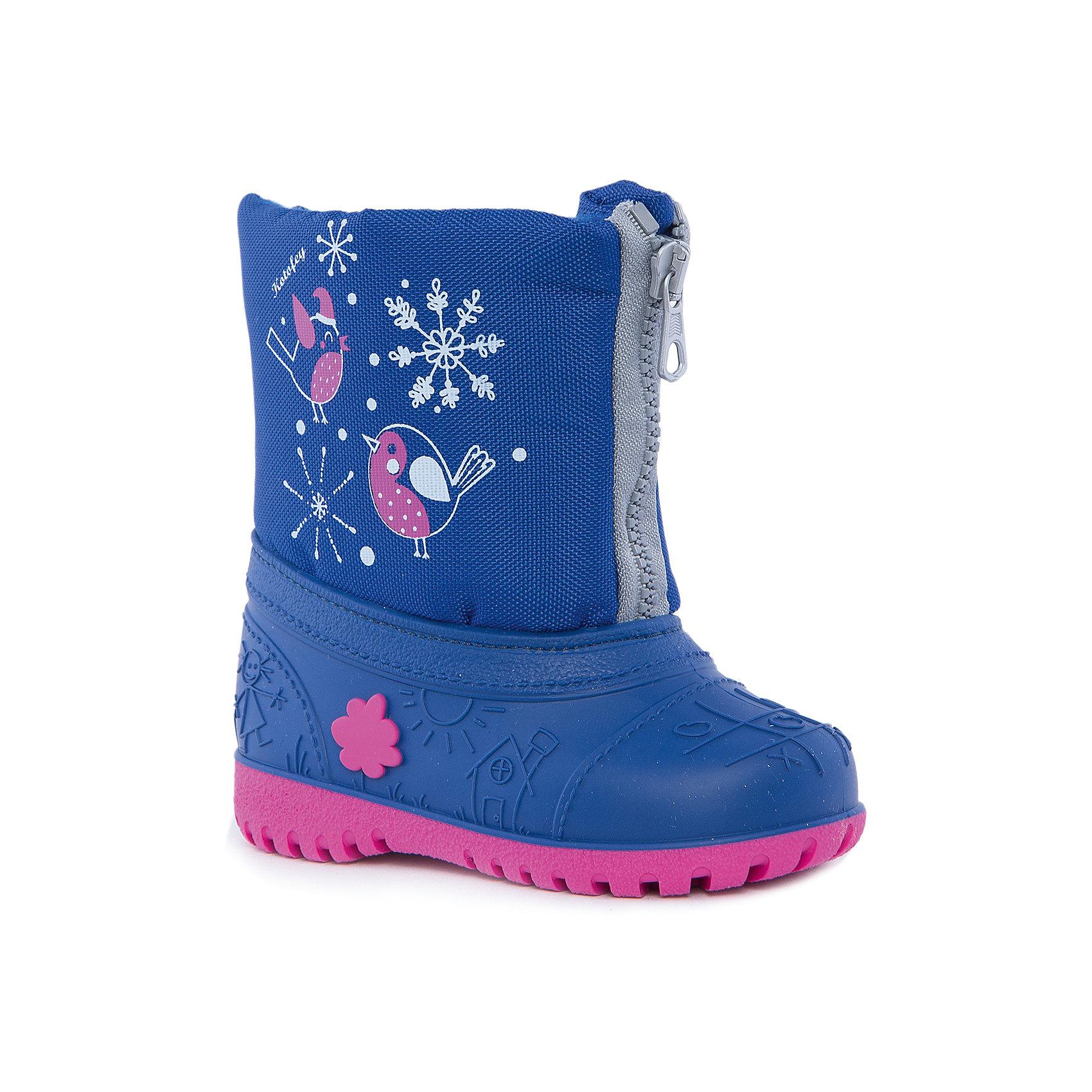 Сноубутсы для девочки КотофейСноубутсы<br>Котофей – качественная и стильная детская обувь по доступным ценам. С каждым днем популярность бренда растет.  При выборе обуви важно следить, чтобы модель была не только красивой и удобной, то и теплой, а так же защищала ножки малыша от промокания. Сочетание резиновых сапог и теплых зимних ботинок создало уникальную модель из новой коллекции.<br><br>Дополнительная информация:<br><br>цвет: синий-фуксия;<br>вид крепления: прошивной;<br>застежка: шнуровка с креплением;<br>температурный режим: от -15 °С до +5° С.<br><br>Состав:<br>материал верха – комбинированный;<br>подкладка – мех шерстяной;<br>подошва – мегол.<br><br>Зимние сапожки из прочных и качественных материалов для девочки ясельного возраста от фирмы Котофей можно приобрести у нас в магазине.<br><br>Ширина мм: 257<br>Глубина мм: 180<br>Высота мм: 130<br>Вес г: 420<br>Цвет: синий<br>Возраст от месяцев: 18<br>Возраст до месяцев: 24<br>Пол: Женский<br>Возраст: Детский<br>Размер: 21/22,23/24,25/26<br>SKU: 4982361