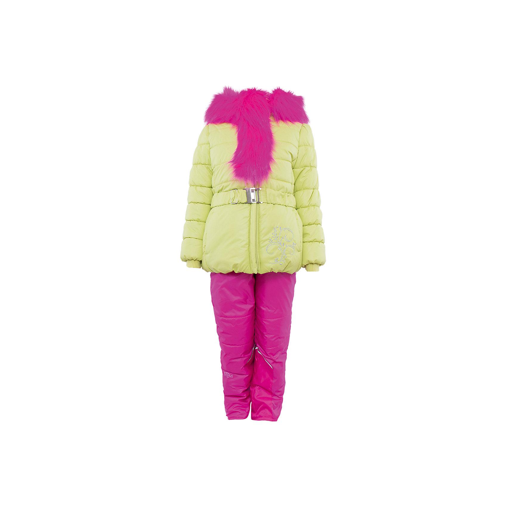 Комплект: курта и брюки для девочки BOOM by OrbyХарактеристики изделия:<br><br>- комплектация: куртка, комбинезон, муфта;<br>- материал верха: мягкая болонь;<br>- подкладка: ПЭ, флис;<br>- утеплитель: Flexy Fiber 400 г/м2, <br>- отделка: вязаное полотно, искусственный мех;<br>- фурнитура: металл, пластик;<br>- застежка: молния;<br>- воротник;<br>- защита подбородка;<br>- клапан от ветра;<br>- вышивка на куртке;<br>- температурный режим до -30°С<br><br><br>В холодный сезон девочки хотят одеваться не только тепло, но и модно. Этот стильный и теплый комплект позволит ребенку наслаждаться зимним отдыхом, не боясь замерзнуть, и выглядеть при этом очень симпатично.<br>Теплая куртка плотно сидит благодаря манжетам и надежным застежкам. Она смотрится очень эффектно благодаря пушистому воротнику. Полукомбинезон дополнен регулируемыми лямками, карманами и манжетами.<br><br>Комплект: курта и брюки для девочки от бренда BOOM by Orby можно купить в нашем магазине.<br><br>Ширина мм: 215<br>Глубина мм: 88<br>Высота мм: 191<br>Вес г: 336<br>Цвет: зеленый<br>Возраст от месяцев: 12<br>Возраст до месяцев: 18<br>Пол: Женский<br>Возраст: Детский<br>Размер: 86,98,122,92,110,104,116<br>SKU: 4982508