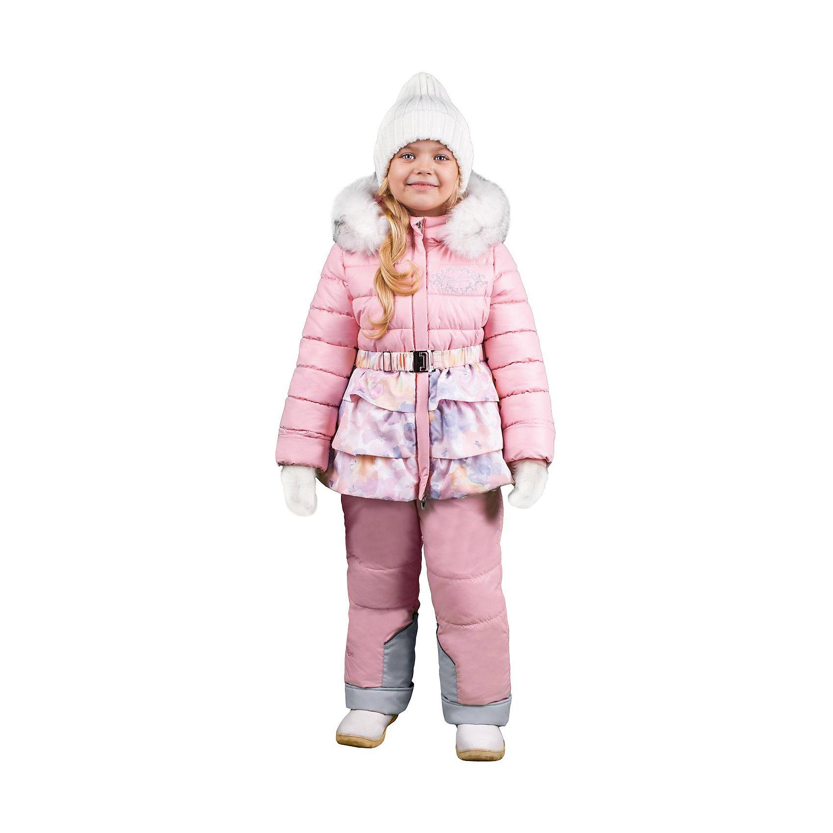 Комплект: курта и брюки для девочки BOOM by OrbyХарактеристики изделия:<br><br>- комплектация: куртка, комбинезон, муфта;<br>- материал верха: мягкая болонь;<br>- подкладка: ПЭ, флис;<br>- утеплитель: Flexy Fiber 400 г/м2, <br>- отделка: вязаное полотно, искусственный мех;<br>- фурнитура: металл, пластик;<br>- застежка: молния;<br>- воротник;<br>- защита подбородка;<br>- клапан от ветра;<br>- вышивка на куртке;<br>- температурный режим до -30°С<br><br><br>В холодный сезон девочки хотят одеваться не только тепло, но и модно. Этот стильный и теплый комплект позволит ребенку наслаждаться зимним отдыхом, не боясь замерзнуть, и выглядеть при этом очень симпатично.<br>Теплая куртка плотно сидит благодаря манжетам и надежным застежкам. Она смотрится очень эффектно благодаря пушистому воротнику и воланам по низу. Полукомбинезон дополнен регулируемыми лямками, карманами и манжетами.<br><br>Комплект: курта и брюки для девочки от бренда BOOM by Orby можно купить в нашем магазине.<br><br>Ширина мм: 215<br>Глубина мм: 88<br>Высота мм: 191<br>Вес г: 336<br>Цвет: бежевый<br>Возраст от месяцев: 48<br>Возраст до месяцев: 60<br>Пол: Женский<br>Возраст: Детский<br>Размер: 110,98,116,86,104,122,92<br>SKU: 4982524