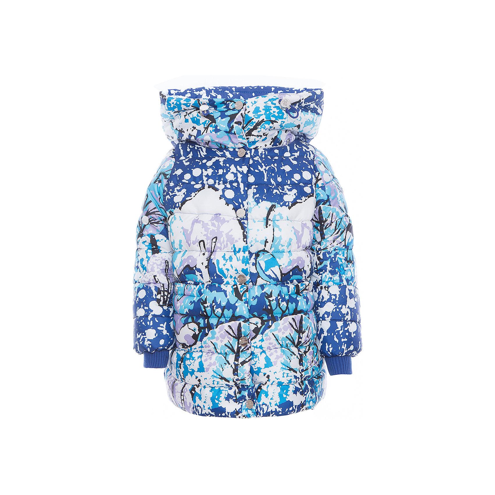 Пальто для девочки BOOM by OrbyВерхняя одежда<br>Характеристики изделия:<br><br>- материа л верха: 100% полиэстер;<br>- подкладка: ПЭ, флис;<br>- утеплитель: Flexy Fiber 400 г/м2, <br>- капюшон;<br>- фурнитура: металл, пластик;<br>- застежка: молния;<br>- высокий воротник;<br>- защита подбородка;<br>- клапан от ветра;<br>- принт;<br>- температурный режим до -30°С<br><br><br>В холодный сезон девочки хотят одеваться не только тепло, но и модно. Это стильное и теплое пальто позволит ребенку наслаждаться зимним отдыхом, не боясь замерзнуть, и выглядеть при этом очень симпатично.<br>Теплое пальто плотно сидит благодаря манжетам и надежным застежкам. Оно смотрится очень эффектно благодаря высокому воротнику и стильному принту. Пальто дополнено карманами и стопперами в талии, с помощью которых легко регулируется её размер.<br><br>Пальто для девочки от бренда BOOM by Orby можно купить в нашем магазине.<br><br>Ширина мм: 356<br>Глубина мм: 10<br>Высота мм: 245<br>Вес г: 519<br>Цвет: синий<br>Возраст от месяцев: 24<br>Возраст до месяцев: 36<br>Пол: Женский<br>Возраст: Детский<br>Размер: 98,146,140,128,122,152,104,116,158,110,134<br>SKU: 4982560