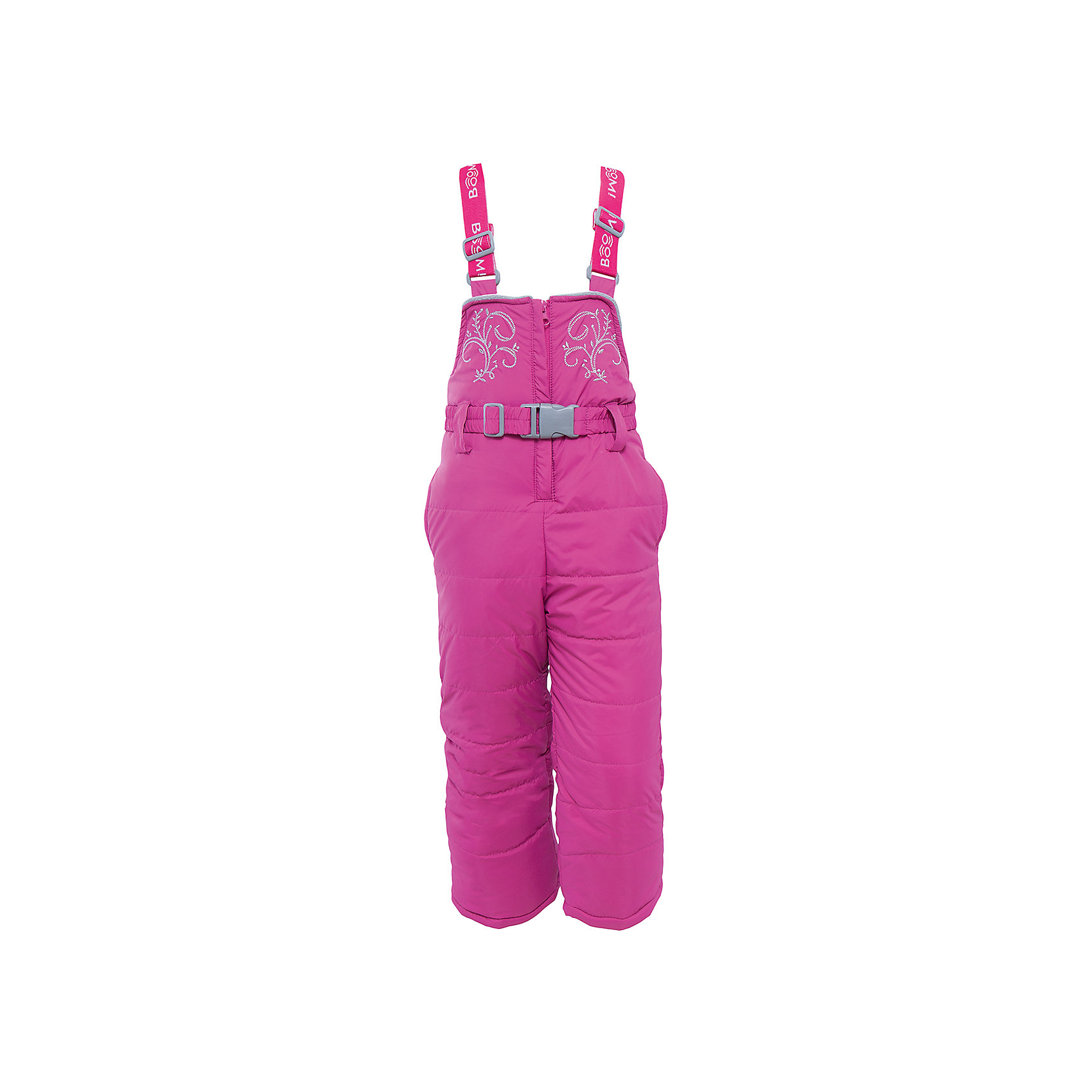 Полукомбинезон для девочки BOOM by OrbyВерхняя одежда<br>Характеристики изделия:<br><br>- материа л верха: 100% полиэстер;;<br>- подкладка: ПЭ, флис;<br>- утеплитель: эко-синтепон 200 г/м2; <br>- фурнитура: металл, пластик;<br>- застежка: молния;<br>- регулируемые лямки;<br>- эластичный пояс;<br>- вышивка;<br>- температурный режим до -30°С<br><br>В холодный сезон девочки хотят одеваться не только тепло, но и модно. Этот стильный и теплый полукомбинезон позволит ребенку наслаждаться зимним отдыхом, не боясь замерзнуть, и выглядеть при этом очень симпатично.<br>Изделие плотно сидит благодаря продуманному крою и надежным застежкам. Оно смотрится очень эффектно благодаря красивой вышивке. Полукомбинезон дополнен карманами и эластичным поясом.<br><br>Полукомбинезон для девочки от бренда BOOM by Orby можно купить в нашем магазине.<br><br>Ширина мм: 215<br>Глубина мм: 88<br>Высота мм: 191<br>Вес г: 336<br>Цвет: розовый<br>Возраст от месяцев: 24<br>Возраст до месяцев: 36<br>Пол: Женский<br>Возраст: Детский<br>Размер: 98,128,122,116,104,134,110,92<br>SKU: 4982627