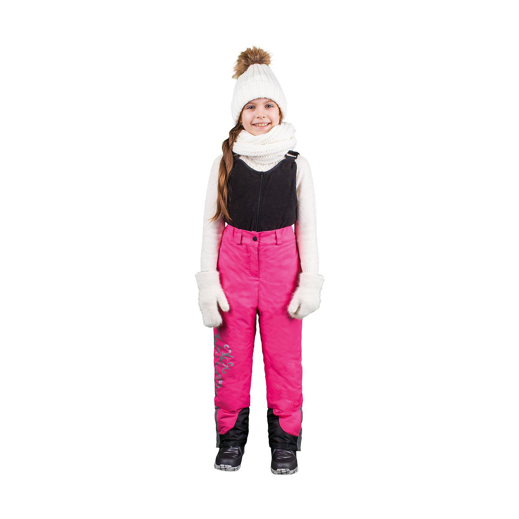 Полукомбинезон для девочки BOOM by OrbyВерхняя одежда<br>Характеристики изделия:<br><br>- материал верха: плащевая ткань;<br>- подкладка: ПЭ;<br>- утеплитель: эко-синтепон 150 г/м2; <br>- фурнитура: металл, пластик;<br>- застежка: молния;<br>- регулируемые лямки;<br>- шлевки;<br>- светоотражающие элементы.<br>-максимальная температура ношения - 20°С<br><br>В холодный сезон девочки хотят одеваться не только тепло, но и модно. Этот стильный и теплый полукомбинезон позволит ребенку наслаждаться зимним отдыхом, не боясь замерзнуть, и выглядеть при этом очень симпатично.<br>Изделие плотно сидит благодаря продуманному крою и надежным застежкам. Оно смотрится очень эффектно благодаря принту из светоотржающего материала. Полукомбинезон дополнен карманами и регулируемыми лямками.<br><br>Полукомбинезон для девочки от бренда BOOM by Orby можно купить в нашем магазине.<br><br>Ширина мм: 215<br>Глубина мм: 88<br>Высота мм: 191<br>Вес г: 336<br>Цвет: розовый<br>Возраст от месяцев: 24<br>Возраст до месяцев: 36<br>Пол: Женский<br>Возраст: Детский<br>Размер: 98,116,110,92,152,122,128,104,146,86,134,158,140<br>SKU: 4982658