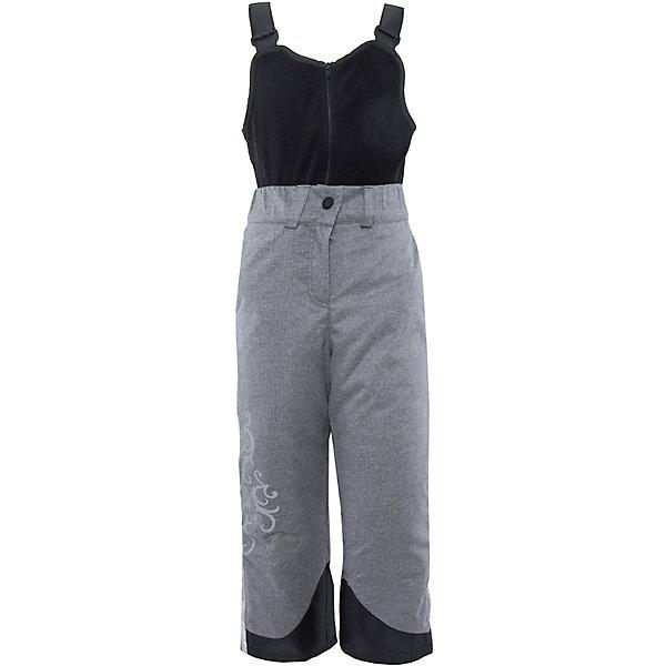 Полукомбинезон для девочки BOOM by OrbyВерхняя одежда<br>Характеристики изделия:<br><br>- материал верха: плащевая ткань;<br>- подкладка: ПЭ;<br>- утеплитель: эко-синтепон 150 г/м2; <br>- фурнитура: металл, пластик;<br>- застежка: молния;<br>- регулируемые лямки;<br>- шлевки;<br>- светоотражающие элементы.<br>-температурный режим до -20°С<br><br>В холодный сезон девочки хотят одеваться не только тепло, но и модно. Этот стильный и теплый полукомбинезон позволит ребенку наслаждаться зимним отдыхом, не боясь замерзнуть, и выглядеть при этом очень симпатично.<br>Изделие плотно сидит благодаря продуманному крою и надежным застежкам. Оно смотрится очень эффектно благодаря принту из светоотржающего материала. Полукомбинезон дополнен карманами и регулируемыми лямками.<br><br>Полукомбинезон для девочки от бренда BOOM by Orby можно купить в нашем магазине.<br>Ширина мм: 215; Глубина мм: 88; Высота мм: 191; Вес г: 336; Цвет: серый; Возраст от месяцев: 96; Возраст до месяцев: 108; Пол: Женский; Возраст: Детский; Размер: 134,116,152,122,140,110,146,98,128,158,104; SKU: 4982672;