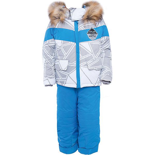 Комплект: куртка и брюки для мальчика BOOM by OrbyВерхняя одежда<br>Характеристики изделия:<br><br>- комплектация: куртка, полукомбинезон;<br>- материа л верха: 100% полиэстер;;<br>- подкладка: ПЭ, флис;<br>- утеплитель: Flexy Fiber 400 г/м2, 200 г/м2; <br>- фурнитура: металл, пластик;<br>- застежка: молния;<br>- капюшон;<br>- внутренний ветрозащитный клапан;<br>- принт на куртке;<br>- температурный режим до -30°С<br><br><br>В холодный сезон важно одеть ребенка комфортно и тепло. Этот стильный и теплый комплект позволит мальчику наслаждаться зимним отдыхом, не боясь замерзнуть, и выглядеть при этом очень симпатично.<br>Теплая куртка плотно сидит благодаря манжетам и надежным застежкам. Она смотрится очень эффектно благодаря стильному принту. Полукомбинезон дополнен регулируемыми лямками, карманами и манжетами.<br><br>Комплект: курта и брюки для мальчика от бренда BOOM by Orby можно купить в нашем магазине.<br><br>Ширина мм: 215<br>Глубина мм: 88<br>Высота мм: 191<br>Вес г: 336<br>Цвет: серый<br>Возраст от месяцев: 12<br>Возраст до месяцев: 15<br>Пол: Мужской<br>Возраст: Детский<br>Размер: 80,116,98,92,86,104,110<br>SKU: 4982704
