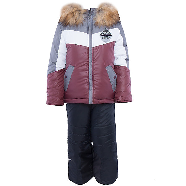Комплект: куртка и брюки для мальчика BOOM by OrbyВерхняя одежда<br>Характеристики изделия:<br><br>- комплектация: куртка, полукомбинезон;<br>- материал верха: болонь;<br>- подкладка: ПЭ, флис;<br>- утеплитель: эко-синтепон 400 г/м2, 200 г/м2; <br>- отделка: искусственный мех;<br>- фурнитура: металл, пластик;<br>- застежка: молния;<br>- капюшон;<br>- защита подбородка;<br>- клапан от ветра;<br>- принт на куртке;<br>- температурный режим до -30°С<br><br><br>В холодный сезон важно одеть ребенка комфортно и тепло. Этот стильный и теплый комплект позволит мальчику наслаждаться зимним отдыхом, не боясь замерзнуть, и выглядеть при этом очень симпатично.<br>Теплая куртка плотно сидит благодаря манжетам и надежным застежкам. Она смотрится очень эффектно благодаря пушистому воротнику. Полукомбинезон дополнен регулируемыми лямками, карманами и манжетами.<br><br>Комплект: курта и брюки для мальчика от бренда BOOM by Orby можно купить в нашем магазине.<br>Ширина мм: 215; Глубина мм: 88; Высота мм: 191; Вес г: 336; Цвет: серый; Возраст от месяцев: 12; Возраст до месяцев: 18; Пол: Мужской; Возраст: Детский; Размер: 86,104,122,92,110,98,116; SKU: 4982730;