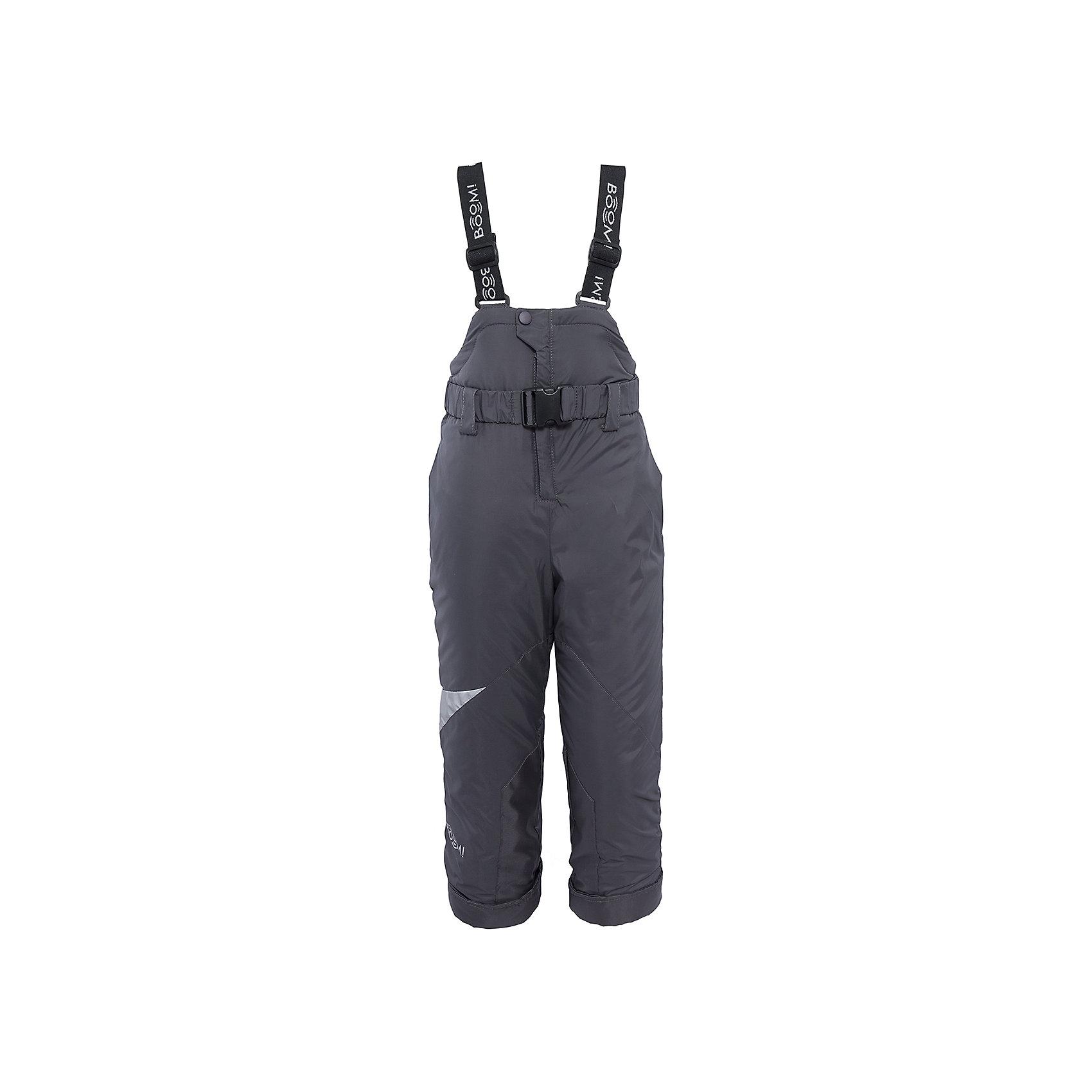 Полукомбинезон для мальчика BOOM by OrbyВерхняя одежда<br>Характеристики изделия:<br><br>- материа л верха: 100% полиэстер;;<br>- подкладка: ПЭ, флис;<br>- утеплитель: эко-синтепон 200 г/м2; <br>- фурнитура: металл, пластик;<br>- застежка: молния;<br>- регулируемые лямки;<br>- эластичный пояс;<br>- светоотражающие детали;<br>- температурный режим до -30°С<br><br>В холодный сезон важно одеть ребенка комфортно и тепло. Этот стильный и теплый полукомбинезон позволит мальчику наслаждаться зимним отдыхом, не боясь замерзнуть, и выглядеть при этом очень стильно.<br>Изделие плотно сидит благодаря продуманному крою и надежным застежкам. Оно смотрится очень эффектно благодаря стильному дизайну. Полукомбинезон дополнен карманами и эластичным поясом.<br><br>Полукомбинезон для мальчика от бренда BOOM by Orby можно купить в нашем магазине.<br><br>Ширина мм: 215<br>Глубина мм: 88<br>Высота мм: 191<br>Вес г: 336<br>Цвет: серый<br>Возраст от месяцев: 12<br>Возраст до месяцев: 18<br>Пол: Мужской<br>Возраст: Детский<br>Размер: 86,122,158,80,116,110,128,152,140,146,98,104,92,134<br>SKU: 4982809