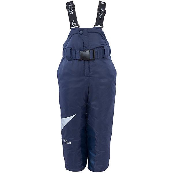 Полукомбинезон для мальчика BOOM by OrbyВерхняя одежда<br>Характеристики изделия:<br><br>- материа л верха: 100% полиэстер;;<br>- подкладка: ПЭ, флис;<br>- утеплитель: эко-синтепон 200 г/м2; <br>- фурнитура: металл, пластик;<br>- застежка: молния;<br>- регулируемые лямки;<br>- эластичный пояс;<br>- светоотражающие детали;<br>- температурный режим до -30°С<br><br>В холодный сезон важно одеть ребенка комфортно и тепло. Этот стильный и теплый полукомбинезон позволит мальчику наслаждаться зимним отдыхом, не боясь замерзнуть, и выглядеть при этом очень стильно.<br>Изделие плотно сидит благодаря продуманному крою и надежным застежкам. Оно смотрится очень эффектно благодаря стильному дизайну. Полукомбинезон дополнен карманами и эластичным поясом.<br><br>Полукомбинезон для мальчика от бренда BOOM by Orby можно купить в нашем магазине.<br>Ширина мм: 215; Глубина мм: 88; Высота мм: 191; Вес г: 336; Цвет: синий; Возраст от месяцев: 24; Возраст до месяцев: 36; Пол: Мужской; Возраст: Детский; Размер: 98,104,152,110,92,128,80,140,158,116,146,86,134,122; SKU: 4982824;