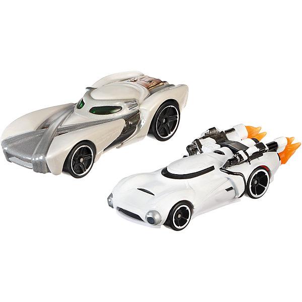 Набор из 2-х машинок Звездные войны, Hot WheelsПопулярные игрушки<br>Базовые машинки Star Wars, Hot Wheels (Хот Вилс) – этот набор порадует юного автолюбителя и поклонника межгалактических приключений. В этом наборе от Хот Вилс любимые миллионами персонажи «Звездных войн» робот C-3PO и астродроид R2D2 предстают в виде машинок. Несмотря на то, что их внешний вид в фильмах нисколько не походил на машины, каждый персонаж прекрасно узнаваем по цветам и характерным деталям, которые перешли от героев в дизайн автомобилей. Машинки понравятся поклонникам всех возрастов: соберите полную коллекцию и устраивайте гонки по всей галактике!  <br><br>Дополнительная информация:  <br>- В комплекте: 2 машины <br>- Масштаб: 1:64 <br>- Материал: пластик, металл <br>- Упаковка: блистер на картоне <br>- Размер упаковки: 20,3 x 6,4 x 16,5 см.  <br><br>Базовые машинки Star Wars, Hot Wheels (Хот Вилс) можно купить в нашем интернет-магазине.<br>Ширина мм: 65; Глубина мм: 205; Высота мм: 165; Вес г: 166; Возраст от месяцев: 48; Возраст до месяцев: 120; Пол: Мужской; Возраст: Детский; SKU: 4983084;