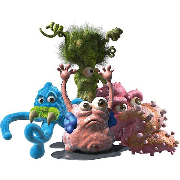 Игровой набор Мешок дезинфектора Fungus Amungus, VividИгровые наборы с фигурками<br>Эти забавные микробы - не простые игрушки. Они сделаны из особого пластика, который можно растянуть, расплющить или прилепить к другому микробу! Игры с ними очень увлекают детей!<br>Одна игрушка - только часть большой коллекции микробов, поэтому детям будет интересно еще и коллекционировать разные фигурки. Какая игрушка попадется в этот раз - сюрприз! Материалы, использованные при изготовлении игрушек, полностью безопасны для детей и отвечают всем требованиям по качеству.<br><br>Дополнительная информация: <br><br>цвет: разноцветный;<br>материал: гибкий пластик.<br>высота игрушки: 3,5 см;<br><br>Игровой набор Мешок дезинфектора Fungus Amungus от компании Vivid можно приобрести в нашем магазине.<br>Ширина мм: 65; Глубина мм: 108; Высота мм: 28; Вес г: 10; Возраст от месяцев: 48; Возраст до месяцев: 120; Пол: Мужской; Возраст: Детский; SKU: 4983801;