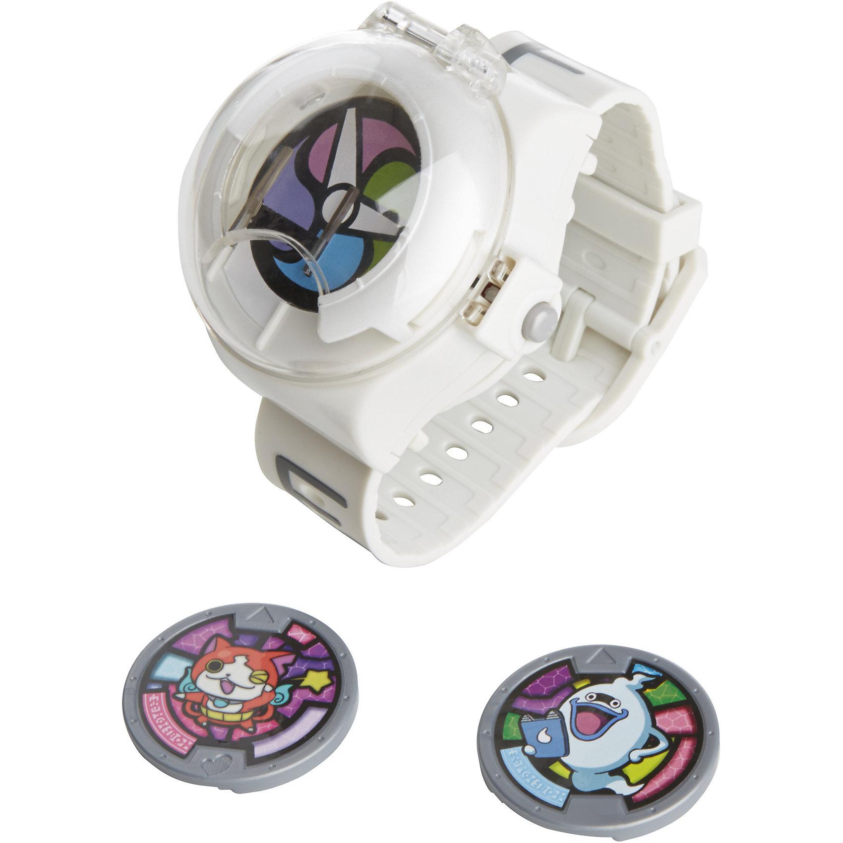 Часы, Йо-кай вотчСюжетно-ролевые игры<br>Часы, Йо-кай вотч<br><br>Характеристики:<br><br>• воспроизводят звуки<br>• в комплекте: часы, 2 медали, инструкция<br>• материал: пластик<br>• размер упаковки: 16,5х7,6х27,9 см<br>• вес: 131 грамм<br>• батарейки: A76 1.5V - 3 шт. (входят в комплект)<br><br>Наручные часы понравится каждому любителю аниме Йо-кай Вотч. Игрушка является копией гаджета главного героя мультфильма. В комплект входят 2 медали. Поместив их в часы, ребенок услышит имя, мелодии и звуки мультфильма. Кроме того, можно отсканировать QR-код, расположенный на медали и придумать еще больше интересных игр с духами!<br><br>Часы, Йо-кай вотч вы можете купить в нашем интернет-магазине.<br><br>Ширина мм: 76<br>Глубина мм: 165<br>Высота мм: 279<br>Вес г: 211<br>Возраст от месяцев: 48<br>Возраст до месяцев: 120<br>Пол: Мужской<br>Возраст: Детский<br>SKU: 4984143