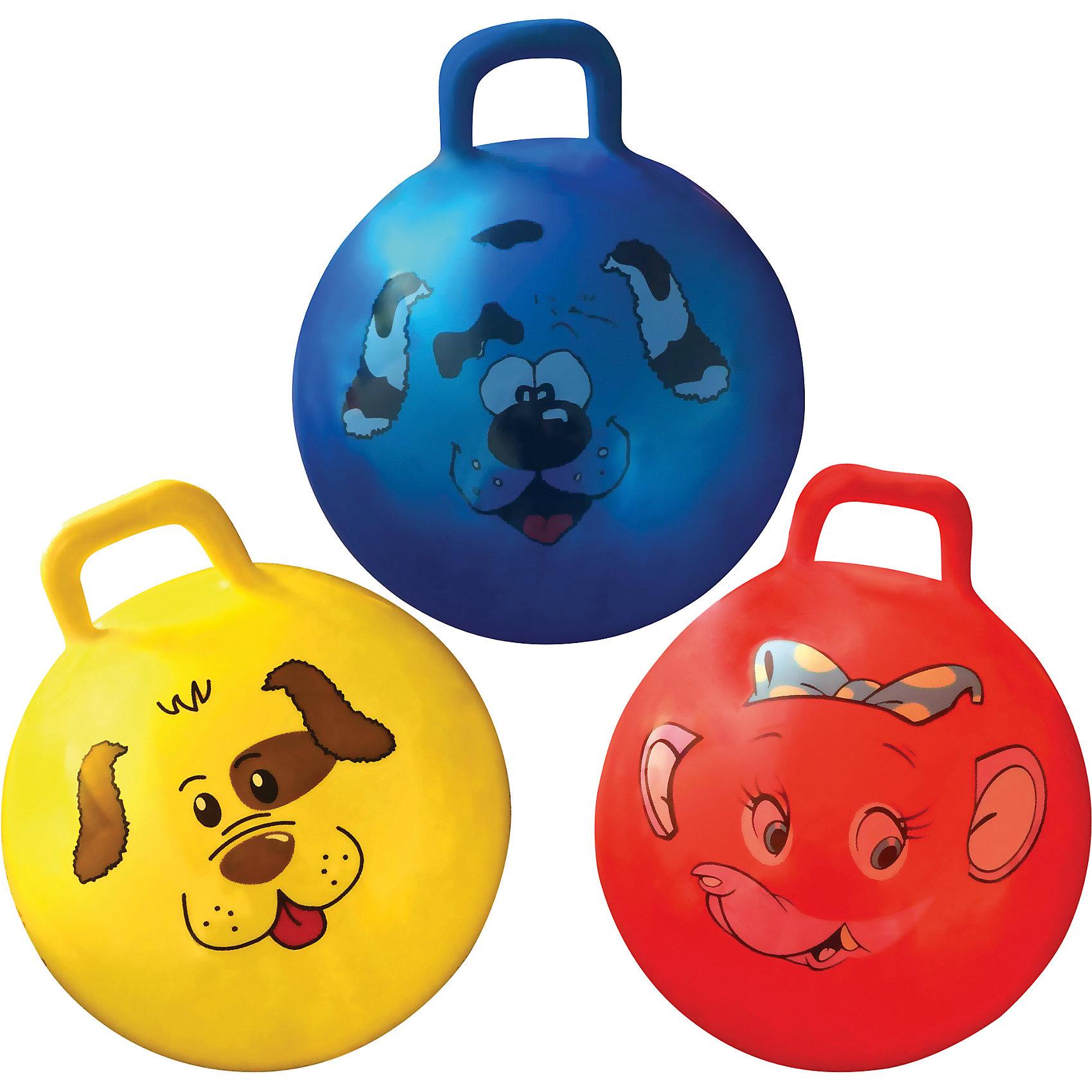Мяч (фитбол) для занятий спортом, 55 см, в комплекте с насосом, Ecos