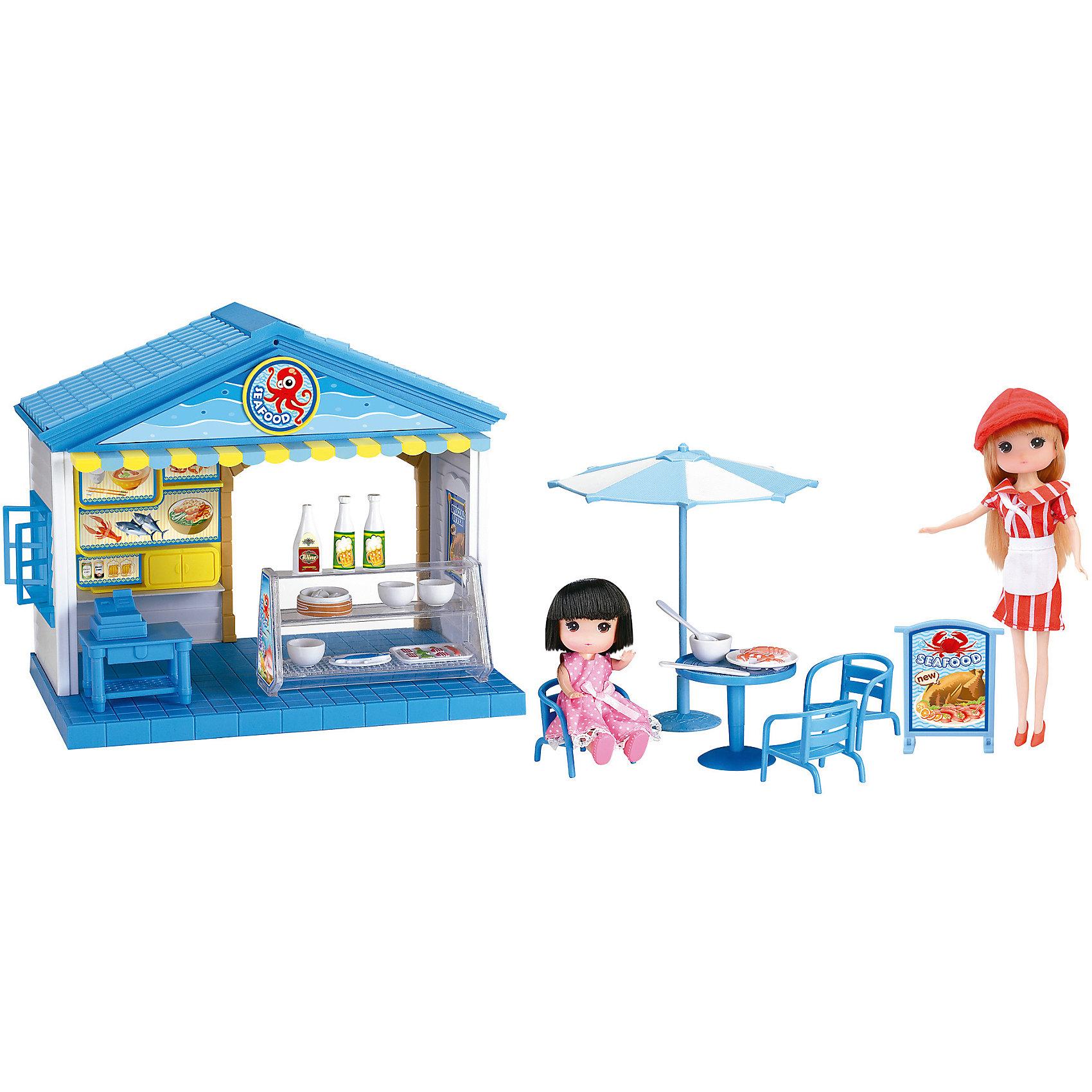 Игровой набор Кафе с куклами, KruttiЗабавная игра для девочек Кафе с куклами.<br>В наборе: кафе - 1шт. (24х21х15.5 см.), кукла - 2шт., стул - 3шт., стол - 2шт., зонтик - 1шт., вывеска - 1шт., касса - 1шт., витрина -1шт., корзина - 1шт., тарелка с едой - 2шт., поднос с едой - 1шт., стакан - 3шт., бутылка.<br><br>Дополнительная информация:<br><br>- Возраст: от 3 лет.<br>- Материал: пластик.<br>- Размер упаковки: 24х15.5х21 см.<br>- Вес в упаковке: 1867 г.<br><br>Купить игровой набор Кафе с куклами от Krutti, можно в нашем магазине.<br><br>Ширина мм: 240<br>Глубина мм: 155<br>Высота мм: 210<br>Вес г: 1867<br>Возраст от месяцев: 36<br>Возраст до месяцев: 2147483647<br>Пол: Унисекс<br>Возраст: Детский<br>SKU: 4985464