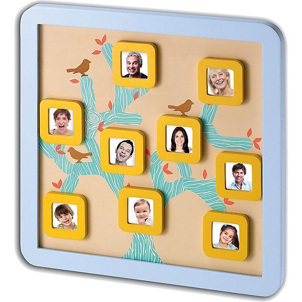 Магнитная доска Семейной дерево, Baby ArtДетские предметы интерьера<br>Сделать семейное дерево своими руками вам поможет набор для творчества Baby Art (Бейби Арт) «Family Tree frame». В квадратные рамочки помещаются миниатюрные фотографии самых дорогих членов семьи. На доске размещаются фото в магнитных рамочках, между ними клеятся ветви семейного древа, которые связывают членов семьи. <br><br>Комплектация набора Baby Art:<br>• магнитная фоторамка Family Tree frame;<br>• 9 магнитных фоторамочек;<br>• лист с наклейками;<br>• инструкция.<br>Магнитную доску Семейное дерево, Baby Art можно купить в нашем интернет-магазине.<br>Ширина мм: 370; Глубина мм: 30; Высота мм: 370; Вес г: 1420; Возраст от месяцев: 0; Возраст до месяцев: 84; Пол: Унисекс; Возраст: Детский; SKU: 4986121;