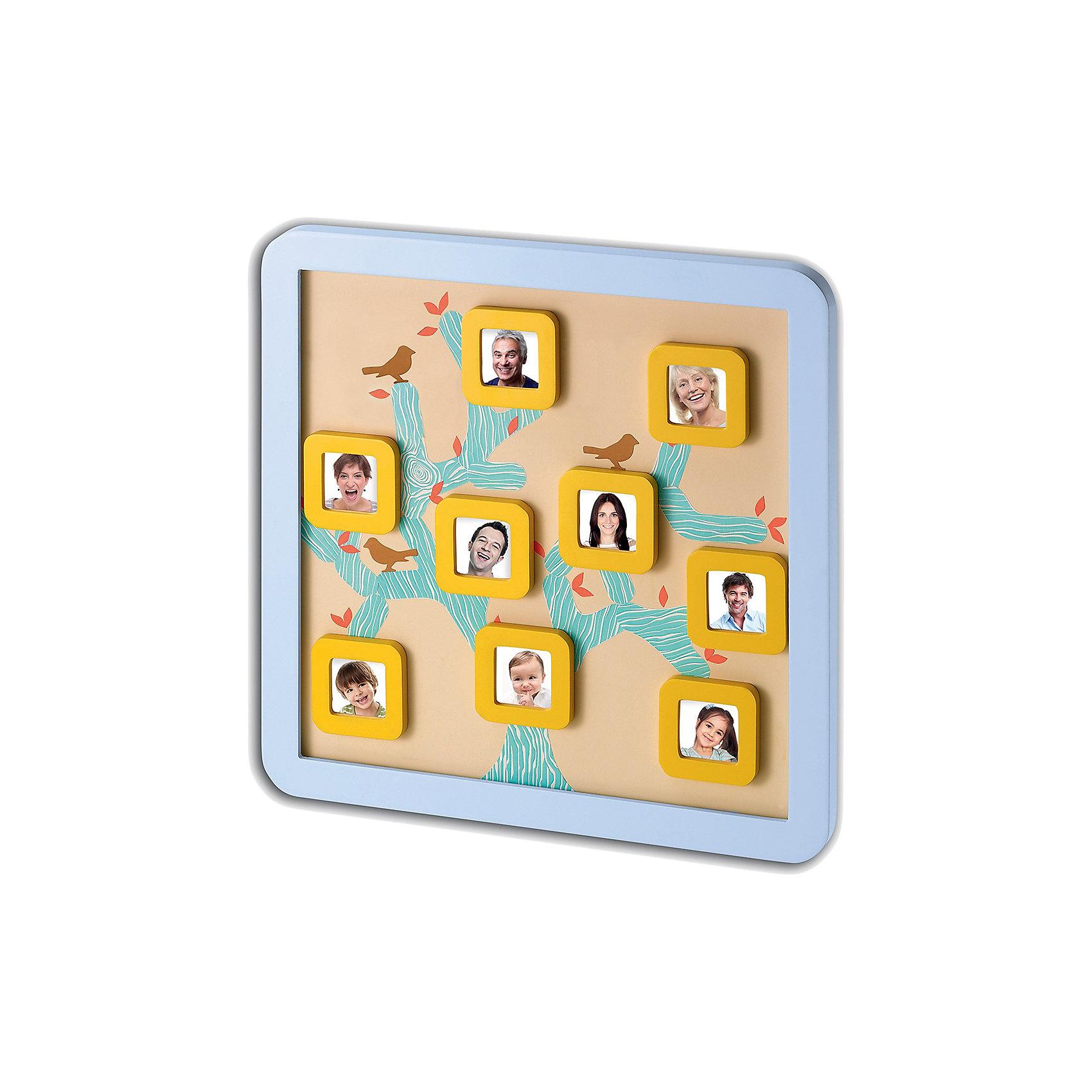 Магнитная доска Семейной дерево, Baby ArtДетские предметы интерьера<br>Сделать семейное дерево своими руками вам поможет набор для творчества Baby Art (Бейби Арт) «Family Tree frame». В квадратные рамочки помещаются миниатюрные фотографии самых дорогих членов семьи. На доске размещаются фото в магнитных рамочках, между ними клеятся ветви семейного древа, которые связывают членов семьи. <br><br>Комплектация набора Baby Art:<br>• магнитная фоторамка Family Tree frame;<br>• 9 магнитных фоторамочек;<br>• лист с наклейками;<br>• инструкция.<br>Магнитную доску Семейное дерево, Baby Art можно купить в нашем интернет-магазине.<br><br>Ширина мм: 370<br>Глубина мм: 30<br>Высота мм: 370<br>Вес г: 1420<br>Возраст от месяцев: 0<br>Возраст до месяцев: 84<br>Пол: Унисекс<br>Возраст: Детский<br>SKU: 4986121