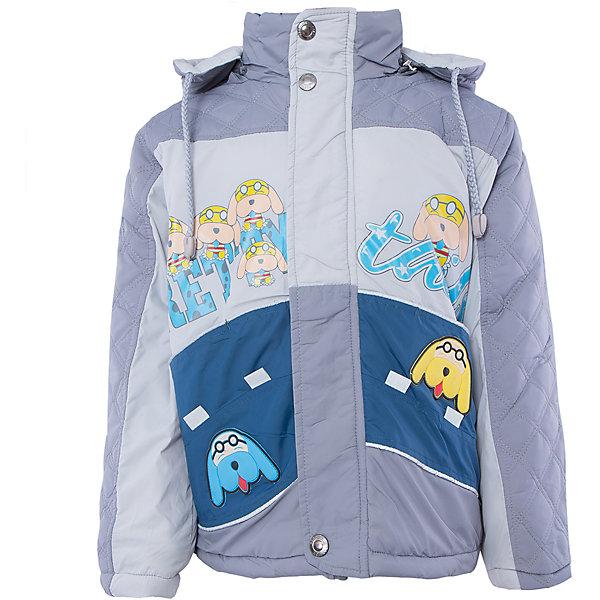 Куртка для мальчика DAUBERВерхняя одежда<br>Куртка для мальчика DAUBER<br><br>Характеристики:<br><br>• Состав: 100%полиэстер.<br>• Цвет: серый, синий.<br>• Материал: текстиль.<br>• Температурный режим до -5 . *<br><br>* Температурный режим указан приблизительно — необходимо, прежде всего, ориентироваться на ощущения ребенка. <br><br>Куртка для мальчика DAUBER от российского бренда DAUBER.<br>Яркая куртка серого цвета с синими вставками выполнена из синтетического материала. Застегивается куртка на молнию, также имеется дополнительный клапан с кнопками. Капюшон, затягивающийся на шнурок, надежно защитит Вашего малыша от ветра и непогоды. Оригинальный забавный принт – собачки ,не оставит равнодушным вашего малыша. <br><br>Куртка для мальчика DAUBER, можно купить в нашем интернет - магазине.<br><br>Ширина мм: 356<br>Глубина мм: 10<br>Высота мм: 245<br>Вес г: 519<br>Цвет: сине-серый<br>Возраст от месяцев: 24<br>Возраст до месяцев: 36<br>Пол: Мужской<br>Возраст: Детский<br>Размер: 98,116,92,104,110<br>SKU: 4987486