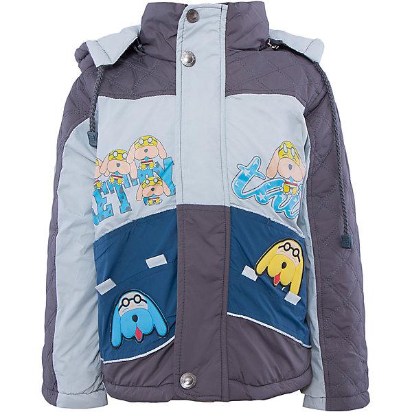 Куртка для мальчика DAUBERВерхняя одежда<br>Куртка для мальчика DAUBER<br><br>Характеристики:<br><br>• Состав: 100%полиэстер.<br>• Цвет:темно- серый, синий.<br>• Материал: текстиль.<br>• Температурный режим до -5 . *<br><br>* Температурный режим указан приблизительно — необходимо, прежде всего, ориентироваться на ощущения ребенка. <br><br>Куртка для мальчика DAUBER от российского бренда DAUBER.<br>Яркая куртка темно-серого цвета с синими вставками выполнена из синтетического материала. Застегивается куртка на молнию, также имеется дополнительный клапан с кнопками. Капюшон, затягивающийся на шнурок, надежно защитит Вашего малыша от ветра и непогоды. Оригинальный забавный принт – собачки ,не оставит равнодушным вашего малыша. <br>Куртка для мальчика DAUBER, можно купить в нашем интернет - магазине.<br><br>Ширина мм: 356<br>Глубина мм: 10<br>Высота мм: 245<br>Вес г: 519<br>Цвет: сине-серый<br>Возраст от месяцев: 24<br>Возраст до месяцев: 36<br>Пол: Мужской<br>Возраст: Детский<br>Размер: 98,104,92,116,110<br>SKU: 4987498
