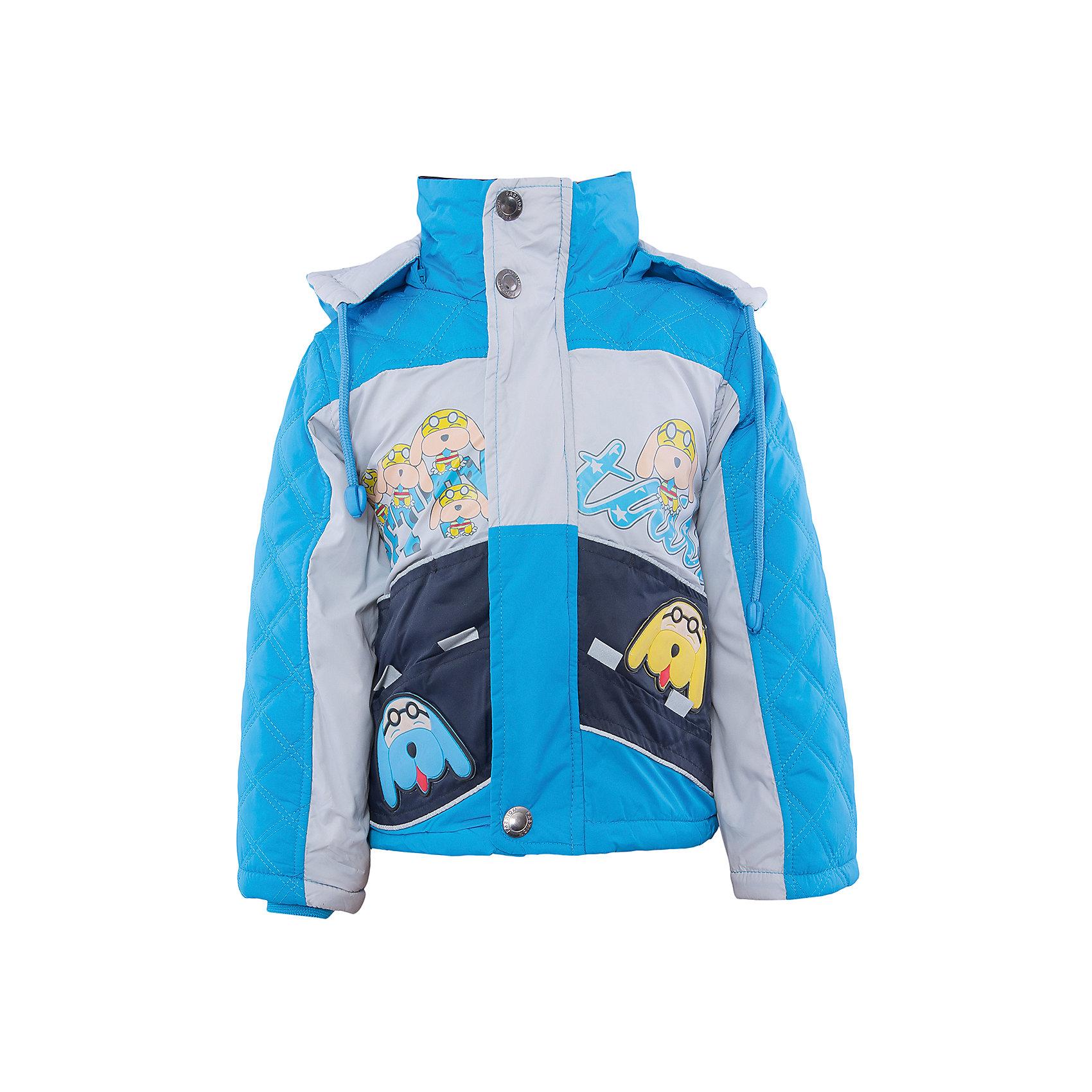 Куртка для мальчика DAUBERКуртка для мальчика DAUBER<br><br>Характеристики:<br><br>• Состав: 100%полиэстер.<br>• Цвет: голубой, синий.<br>• Материал: текстиль.<br>• Застежка-молния.<br>• Температурный режим до -5 . *<br><br>* Температурный режим указан приблизительно — необходимо, прежде всего, ориентироваться на ощущения ребенка. <br><br>Куртка для мальчика DAUBER от российского бренда DAUBER.<br>Яркая куртка голубого цвета с синими вставками выполнена из синтетического материала. Застегивается куртка на молнию, также имеется дополнительный клапан с кнопками. Капюшон, затягивающийся на шнурок, надежно защитит Вашего малыша от ветра и непогоды. Оригинальный забавный принт – собачки ,не оставит равнодушным вашего малыша. <br><br>Куртку для мальчика DAUBER, можно купить в нашем интернет - магазине.<br><br>Ширина мм: 356<br>Глубина мм: 10<br>Высота мм: 245<br>Вес г: 519<br>Цвет: голубой/синий<br>Возраст от месяцев: 18<br>Возраст до месяцев: 24<br>Пол: Мужской<br>Возраст: Детский<br>Размер: 92,116,110,104,98<br>SKU: 4987504