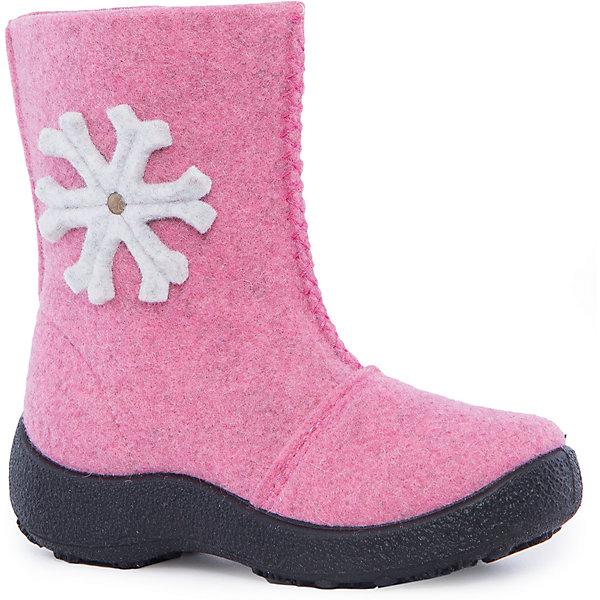 Валенки для девочки KAPIKAВаленки<br>Валенки для девочки KAPIKA.<br><br>Температурный режим: до -10-15 градусов. Степень утепления – средняя  <br><br>* Температурный режим указан приблизительно — необходимо, прежде всего, ориентироваться на ощущения ребенка. <br><br>Отлично подойдут для зимних прогулок. Валенки не только имеют интересный дизайн, но и отлично греют изнутри. Они сделаны из качественного материала, поэтому не будут размокать и портиться от контакта со снегом. Порадуйте себя и свою девочку тёплыми и красивыми валенками от KAPIKA.<br><br>Характеристика:<br>-Цвет: светло-розовый<br>-Принт в виде снежинки<br>-Сбоку молния<br>-Материал: верх-войлок,                       стелька- войлок,                       подошва- полиуретан <br>-Для девочек <br>-Бренд: KAPIKA(КАПИКА)<br><br>Валенки для девочки KAPIKA вы можете приобрести в нашем интернет- магазине.<br><br>Ширина мм: 257<br>Глубина мм: 180<br>Высота мм: 130<br>Вес г: 420<br>Цвет: розовый<br>Возраст от месяцев: 36<br>Возраст до месяцев: 48<br>Пол: Женский<br>Возраст: Детский<br>Размер: 27,32,31,30,29,28<br>SKU: 4987685