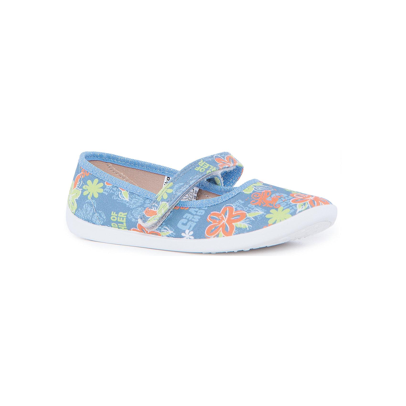 Туфли для девочки KAPIKAТуфли для девочки KAPIKA станут отличным вариантом для летних прогулок. Туфельки очень удобные и не будут натирать ножки. Они не будут сковывать движение и прогулки станут особенно интересными. Порадуйте себя и свою девочкутаким замечательным подарком. <br><br>Характеристика:<br>-Цвет: голубой с рисунком<br>-Материал: верх - текстиль, стелька - кожа,                       подошва - полимер,                       подкладка - текстиль<br>-Застёжка: липучка<br>-Бренд: KAPIKA(КАПИКА)<br><br>Туфли для девочки KAPIKA  вы можете приобрести в нашем интернет- магазине.<br><br>Ширина мм: 227<br>Глубина мм: 145<br>Высота мм: 124<br>Вес г: 325<br>Цвет: синий<br>Возраст от месяцев: 108<br>Возраст до месяцев: 120<br>Пол: Женский<br>Возраст: Детский<br>Размер: 33,34,35,30,31,32<br>SKU: 4987747