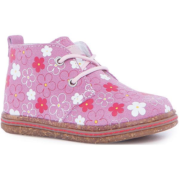 Ботинки для девочки KAPIKAБотинки<br>Ботинки для девочки KAPIKA – стиль, удобство и комфорт.<br>Красивые ботиночки из натуральной кожи сделаны со специальным супинатором, который делает носку комфортной. Стелька и подкладка также из натуральной кожи. Ботиночки застегиваются с помощью молнии. Можно регулировать полноту модели с помощью шнурков.<br><br>Дополнительная информация:<br><br>- материал верха: натуральная кожа, нубук<br>- материал подкладки: натуральная кожа<br>- цвет: розовый<br><br>Ботинки для девочки KAPIKA можно купить в нашем интернет магазине.<br>Ширина мм: 262; Глубина мм: 176; Высота мм: 97; Вес г: 427; Цвет: розовый; Возраст от месяцев: 18; Возраст до месяцев: 21; Пол: Женский; Возраст: Детский; Размер: 23,28,27,26,25,24; SKU: 4988016;