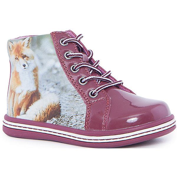 Ботинки для девочки KAPIKAБотинки<br>Ботинки для девочки KAPIKA – стиль, удобство и комфорт.<br>Красивые ботиночки из натуральной кожи сделаны со специальным супинатором, который делает носку комфортной. Стелька и подкладка также из натуральной кожи. Ботиночки застегиваются с помощью молнии. Можно регулировать полноту модели с помощью шнурков.<br><br>Дополнительная информация:<br><br>- материал верха: натуральная кожа, микрофибра<br>- материал подкладки: 80% шерсти<br>- цвет: розовые<br><br>Ботинки для девочки KAPIKA можно купить в нашем интернет магазине.<br><br>Ширина мм: 262<br>Глубина мм: 176<br>Высота мм: 97<br>Вес г: 427<br>Цвет: красный<br>Возраст от месяцев: 18<br>Возраст до месяцев: 21<br>Пол: Женский<br>Возраст: Детский<br>Размер: 23,25,24,27,26<br>SKU: 4988047