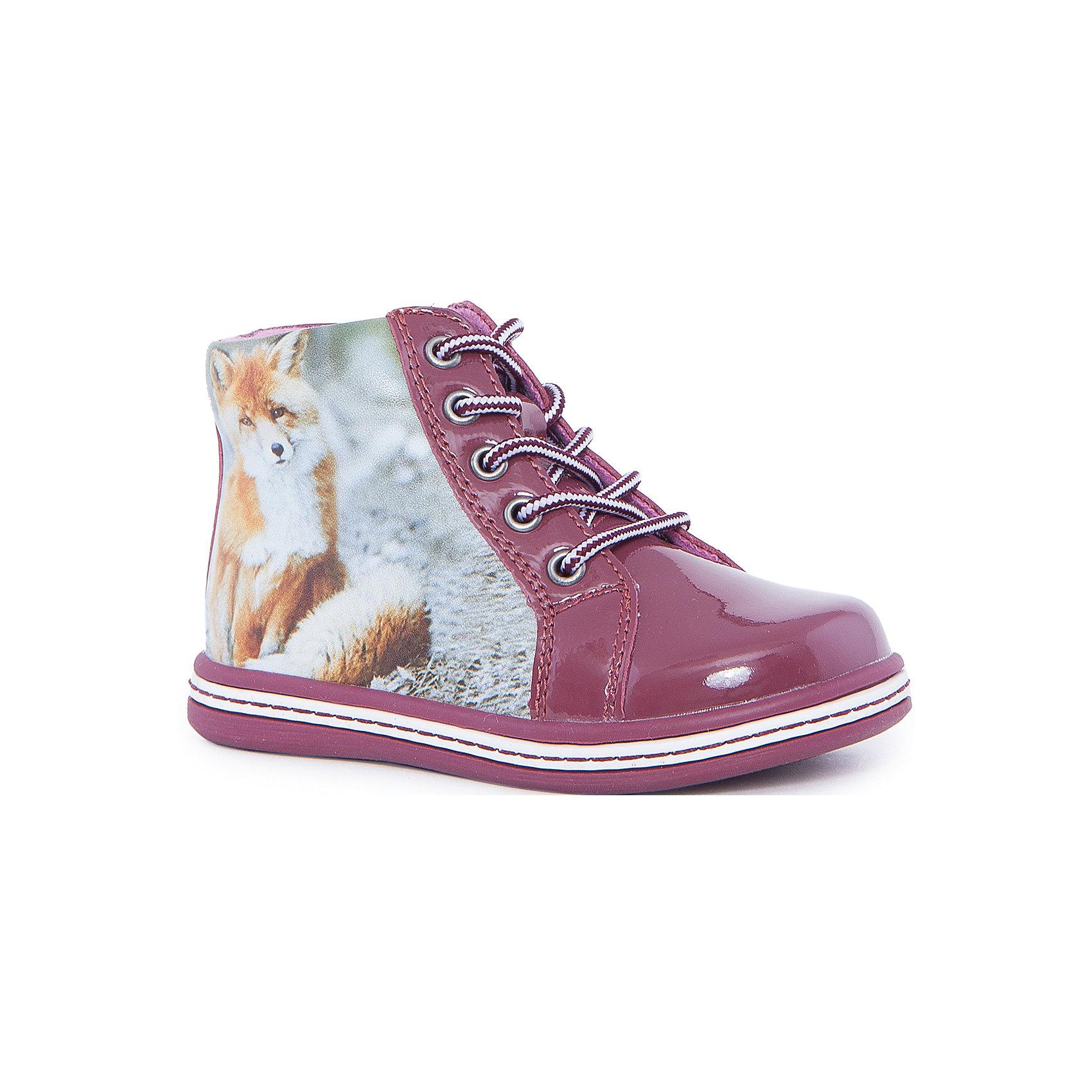 Ботинки для девочки KAPIKAБотинки<br>Ботинки для девочки KAPIKA – стиль, удобство и комфорт.<br>Красивые ботиночки из натуральной кожи сделаны со специальным супинатором, который делает носку комфортной. Стелька и подкладка также из натуральной кожи. Ботиночки застегиваются с помощью молнии. Можно регулировать полноту модели с помощью шнурков.<br><br>Дополнительная информация:<br><br>- материал верха: натуральная кожа, микрофибра<br>- материал подкладки: 80% шерсти<br>- цвет: розовые<br><br>Ботинки для девочки KAPIKA можно купить в нашем интернет магазине.<br><br>Ширина мм: 262<br>Глубина мм: 176<br>Высота мм: 97<br>Вес г: 427<br>Цвет: красный<br>Возраст от месяцев: 18<br>Возраст до месяцев: 21<br>Пол: Женский<br>Возраст: Детский<br>Размер: 23,27,24,25,26<br>SKU: 4988047