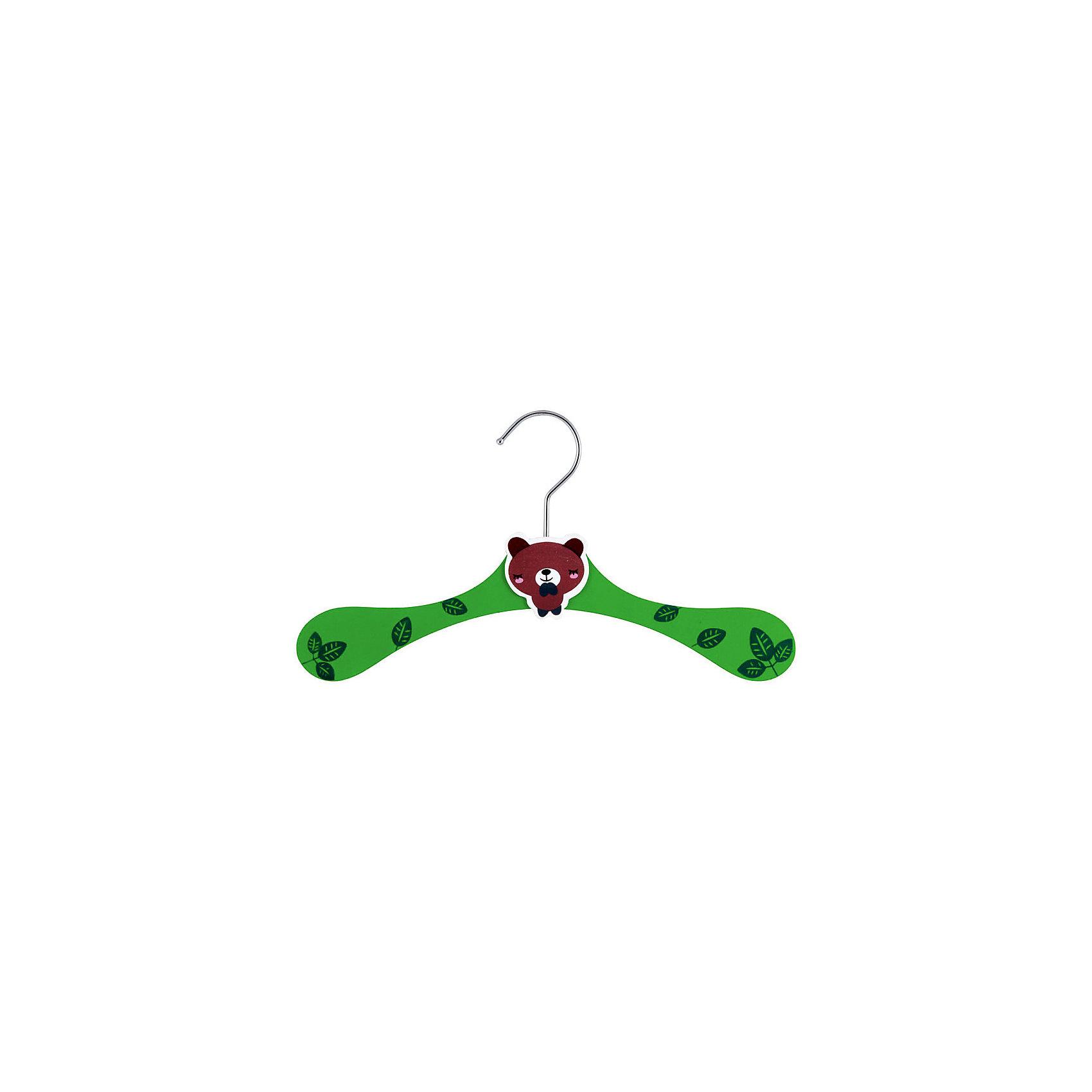 Вешалка детская деревянная KW-1 Медвежонок, Рыжий Кот, зеленыйПриучить малыша наводить порядок в шкафу и содержать свои вещи в чистоте можно с самого детства. Детская деревянная вешалка «Медвежонок» красочно оформлена, имеет широкие плечики, украшенные листочками, в центре находится фигурка спящего медвежонка. Изготовлена вешалка из качественных пород древесины, крючок – из нержавеющей стали. На вешалке детские вещи будут смотреться аккуратно. <br><br>Дополнительная информация: <br><br>Размер детской вешалки: 28x10x15,5 см<br><br>Вешалку детскую деревянную KW-1 Медвежонок, Рыжий Кот, зеленую можно купить в нашем интернет-магазине.<br><br>Ширина мм: 278<br>Глубина мм: 150<br>Высота мм: 8<br>Вес г: 60<br>Возраст от месяцев: 36<br>Возраст до месяцев: 1080<br>Пол: Унисекс<br>Возраст: Детский<br>SKU: 4989781