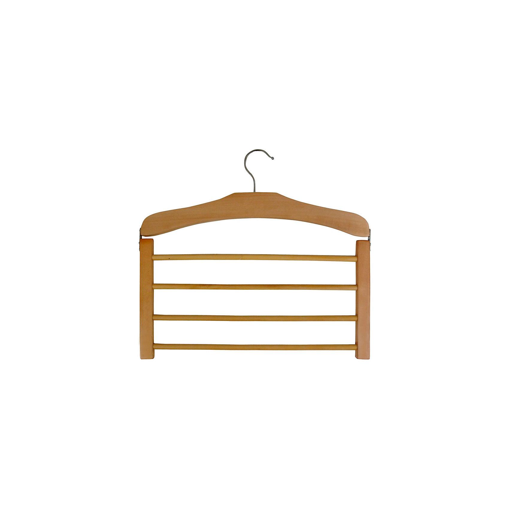 Вешалка деревянная SS2 для брюк, 4 перекладины, Рыжий КотАккуратно и компактно поместить брюки в шкафу поможет вешалка 4в1. Крепкая вешалка выполнена из дерева, имеет 4 перекладины.<br><br>Дополнительная информация:<br><br>Размер: 39,1х33,2х1,52 см<br>Материал: дерево<br>Крючок: металл<br><br>Вешалку деревянную SS2 для брюк, 4 перекладины, Рыжий Кот можно купить в нашем интернет-магазине.<br><br>Ширина мм: 391<br>Глубина мм: 332<br>Высота мм: 15<br>Вес г: 298<br>Возраст от месяцев: 36<br>Возраст до месяцев: 1080<br>Пол: Унисекс<br>Возраст: Детский<br>SKU: 4989792