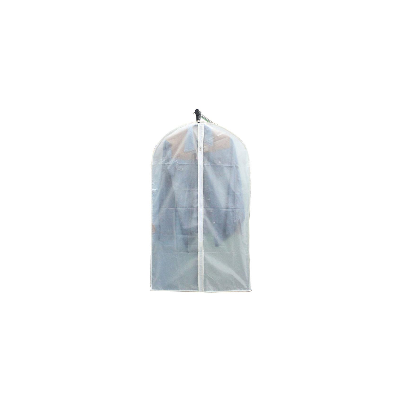 Чехол для одежды Эконом SUN-001,  60*100см, Рыжий Кот