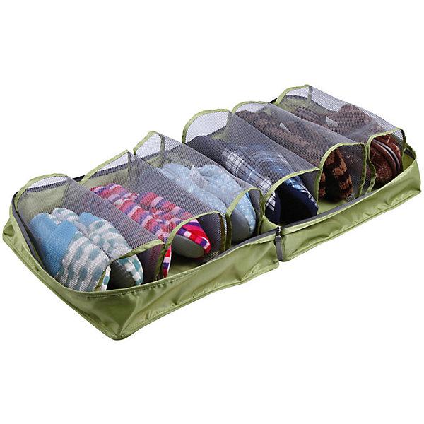 Чехол для обуви дорожный XL, SO304, 36*36*17CM, Рыжий КотОрганайзеры для одежды<br>Чехол для хранения обуви дает возможность упорядочить багаж, подобрать каждой паре обуви свой «домик», защитить обувь от пыли и загрязнений. Застегивается на молнию, оснащен ручками для переноски, каждая секция отдельная, всего 6 секций. Допускается стирка.<br><br>Дополнительная информация:<br><br>Размер: 36х36х17 см<br>Материал: полиэстер (водонепроницаемый, 230T)<br><br>Чехол для обуви дорожный XL, SO304, 36*36*17CM, Рыжий Кот можно купить в нашем интернет-магазине.<br>Ширина мм: 360; Глубина мм: 360; Высота мм: 170; Вес г: 228; Возраст от месяцев: 36; Возраст до месяцев: 1080; Пол: Унисекс; Возраст: Детский; SKU: 4989815;