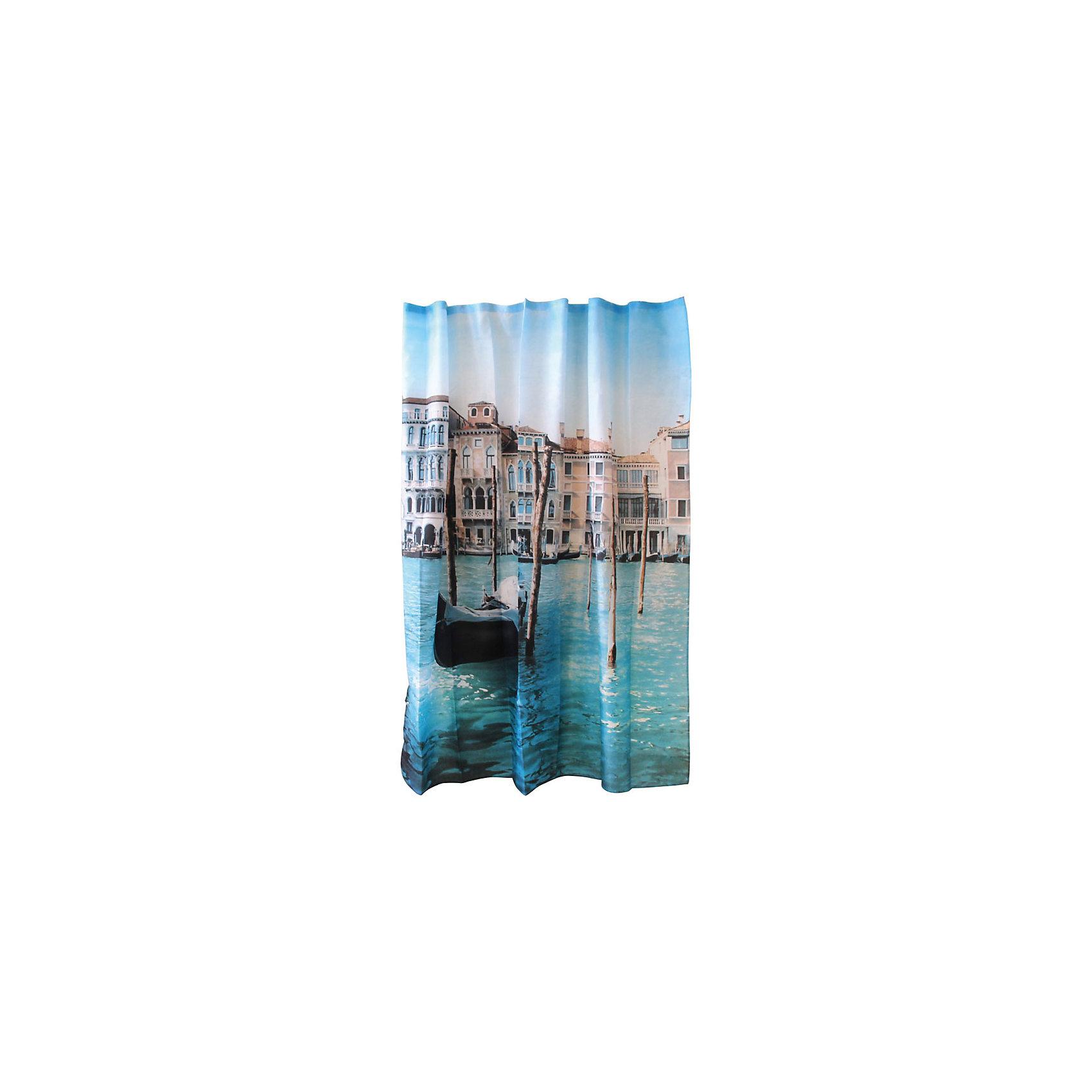 Занавеска для ванной Curtain-Venice Венеция, 180*180см, Рыжий КотЗанавеска для ванной не только ободрит владельца, но и защитит пол в ванной от разбрызгивания водных брызг. Занавеска с печатным рисунком итальянского города подвешивается на пластиковые кольца, которые входят в комплект набора «Рыжий кот» в количестве 12 штук. <br><br>Дополнительная информация:<br><br>Размер: 180х180 см<br>Материал: 100% полиэстер с водоотталкивающим покрытием<br>Упаковка: ПВХ пакет с крючком<br><br>Занавеску для ванной Curtain-Venice Венеция, 180*180см, Рыжий Кот можно купить в нашем интернет-магазине.<br><br>Ширина мм: 1800<br>Глубина мм: 1765<br>Высота мм: 50<br>Вес г: 399<br>Возраст от месяцев: 36<br>Возраст до месяцев: 1080<br>Пол: Унисекс<br>Возраст: Детский<br>SKU: 4989826