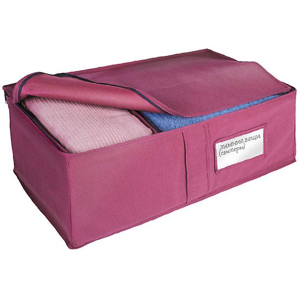 Ящик универсальный для хранения вещей 60*30*20 см., Рыжий КотОрганайзеры для одежды<br>Для компактного хранения вещей в шкафу используется универсальный ящик. Плотные стенки и дно предотвращают деформацию вещей. Верхний клапан закрывается на молнию. Внутри ящика имеется тканевый разделитель. Прозрачное окошко для карточки с текстом, в котором указано, что находится внутри ящика. <br><br>Дополнительная информация:<br><br>Размер ящика: 60х30х20 см<br>Материал: пылеотталкивающий неэлектризующийся материала спанбонд плотностью 80 г/м2.<br><br>Ящик универсальный для хранения вещей 60*30*20 см., Рыжий Кот можно купить в нашем интернет-магазине.<br>Ширина мм: 620; Глубина мм: 220; Высота мм: 30; Вес г: 420; Возраст от месяцев: 6; Возраст до месяцев: 1080; Пол: Унисекс; Возраст: Детский; SKU: 4989837;