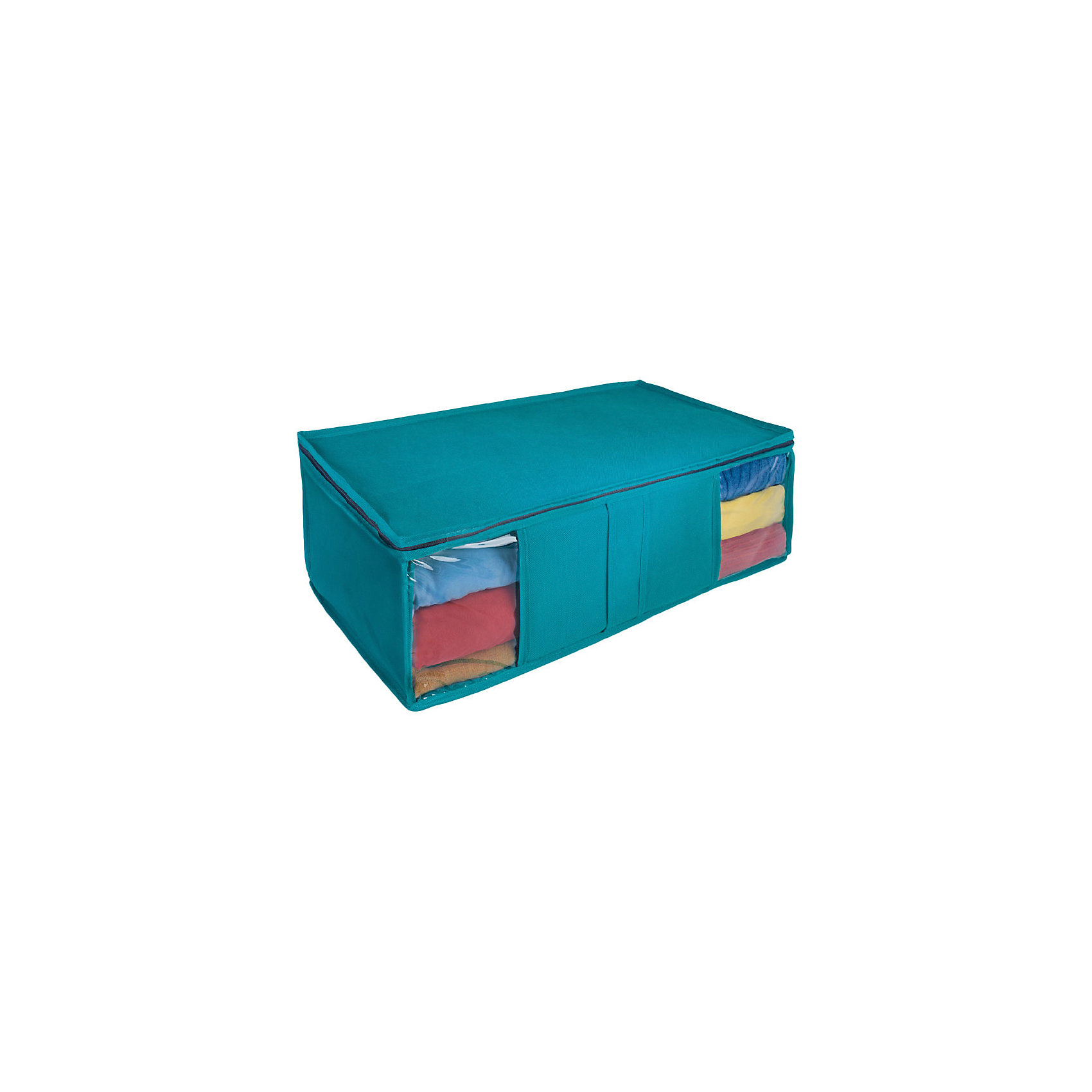 Ящик текстильный для хранения вещей 60*30*20 см., Рыжий КотПорядок в детской<br>Для компактного хранения вещей в шкафу используется универсальный ящик. Плотные стенки и дно предотвращают деформацию вещей. Верхний клапан закрывается на молнию. Внутри ящика имеется тканевый разделитель. Прозрачные окошки показывают, что находится внутри ящика. <br><br>Дополнительная информация:<br><br>Размер ящика: 60х30х20 см<br>Материал: пылеотталкивающий неэлектризующийся материала спанбонд плотностью 80 г/м2.<br><br>Ящик текстильный для хранения вещей 60*30*20 см., Рыжий Кот можно купить в нашем интернет-магазине.<br><br>Ширина мм: 620<br>Глубина мм: 220<br>Высота мм: 30<br>Вес г: 420<br>Возраст от месяцев: 6<br>Возраст до месяцев: 1080<br>Пол: Унисекс<br>Возраст: Детский<br>SKU: 4989838