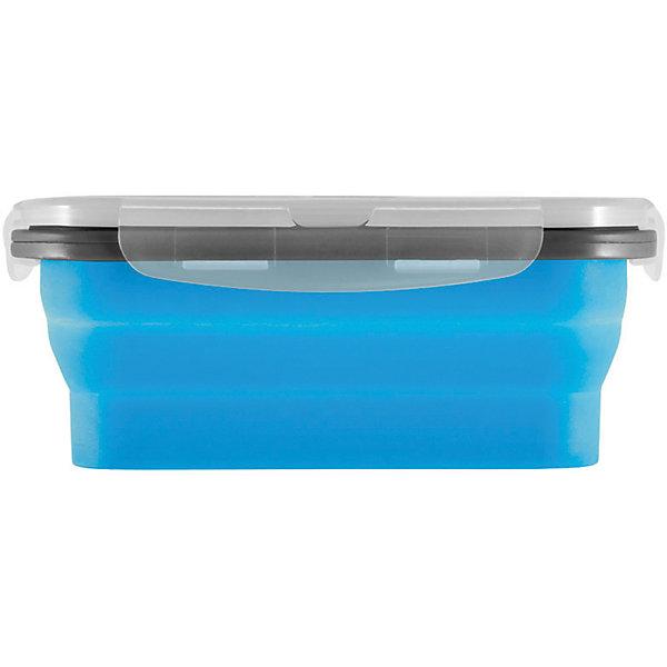 Силиконовый контейнер для еды с крышкой EL-350, MallonyДетская посуда<br>Контейнер с крышкой пригодится для того, чтобы взять бутерброды с собой в дорогу – это может быть школьный обед или поездка. Контейнер также используется для хранения еды в холодильнике. Крышка герметично закрывается. <br><br>Дополнительная информация:<br><br>Размер: 12,5х9х6,4 см<br>Объем: 350 мл<br><br>Материал: полипропилен, пищевой силикон<br><br>ВНИМАНИЕ! Данный артикул имеется в наличии в разных цветовых исполнениях (голубой, оранжевый). <br>К сожалению, заранее выбрать определенный цвет невозможно.<br><br>Силиконовый контейнер для еды с крышкой EL-350, Mallony можно купить в нашем интернет-магазине.<br>Ширина мм: 130; Глубина мм: 100; Высота мм: 30; Вес г: 128; Возраст от месяцев: 216; Возраст до месяцев: 1080; Пол: Унисекс; Возраст: Детский; SKU: 4989858;